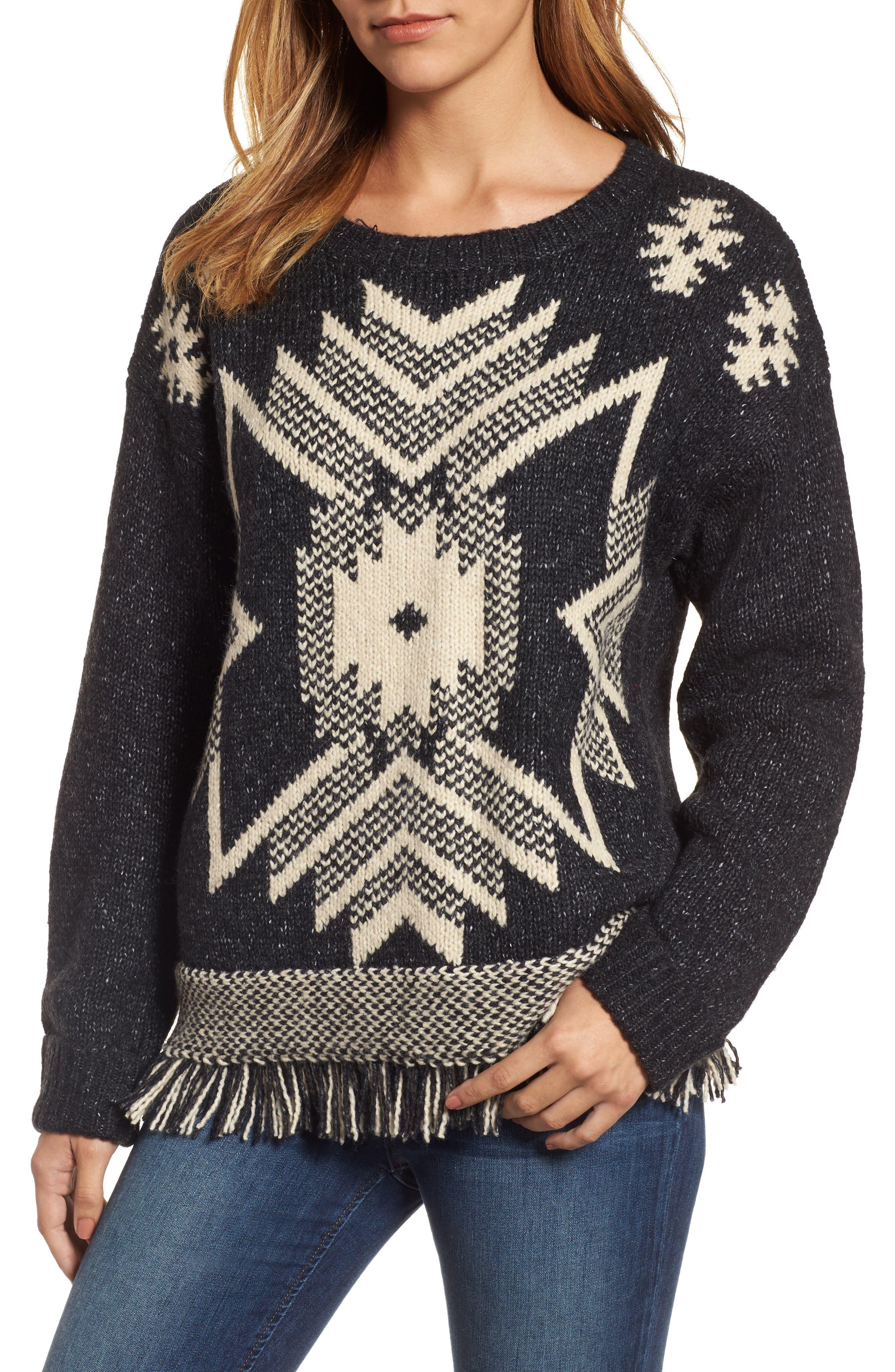 Fringe Sweater,                             Main thumbnail 1, color,