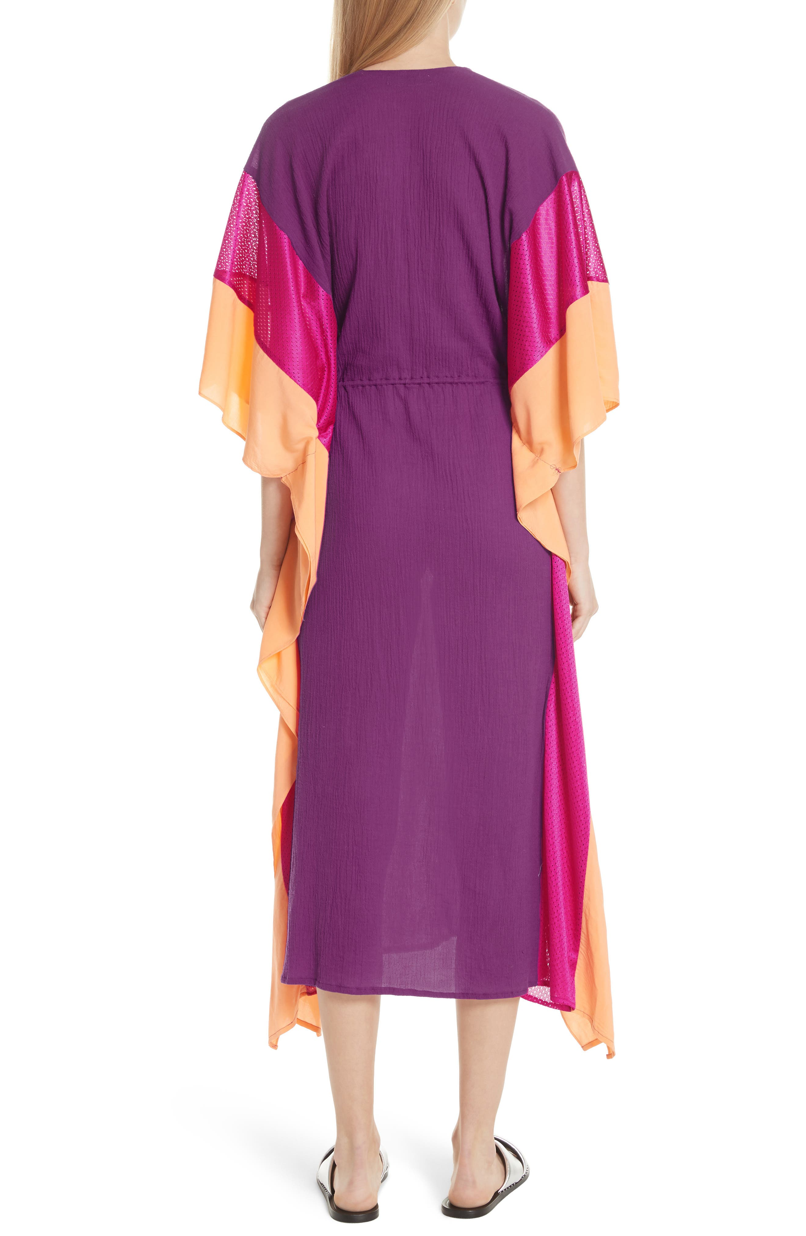 Sun Dance Caftan Dress,                             Alternate thumbnail 2, color,                             650