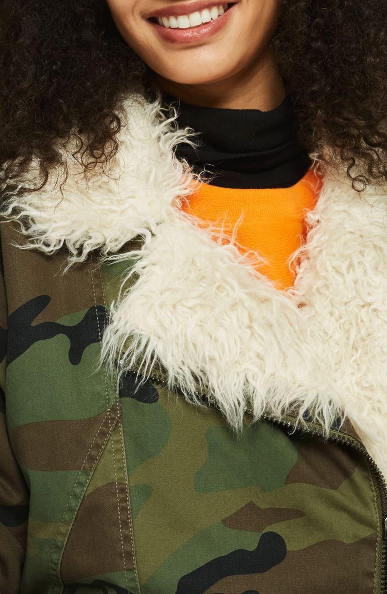 Jake Camouflage Jacket,                             Alternate thumbnail 3, color,                             300