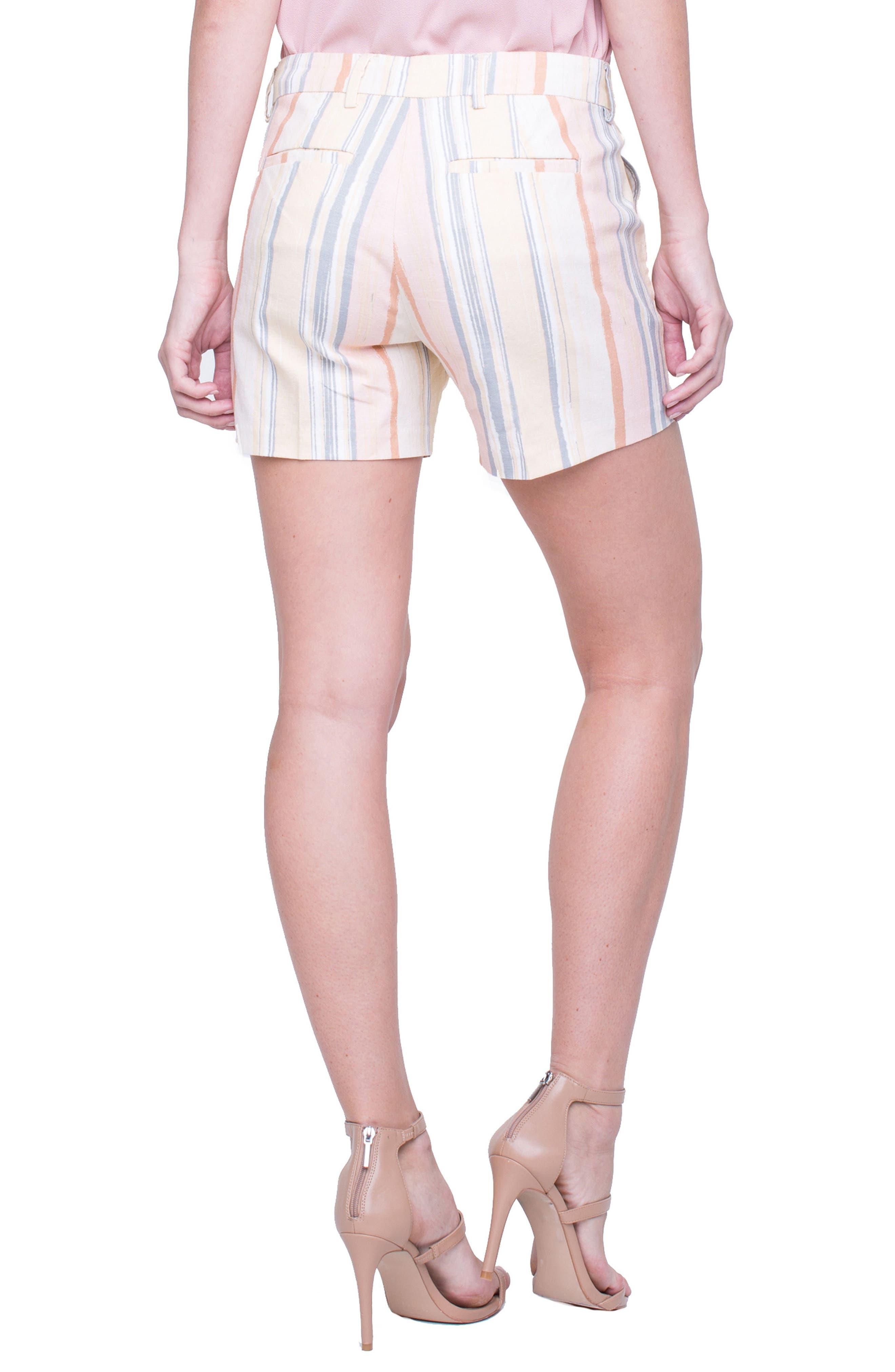 Kelsey Sunset Stripe Shorts,                             Alternate thumbnail 2, color,                             950