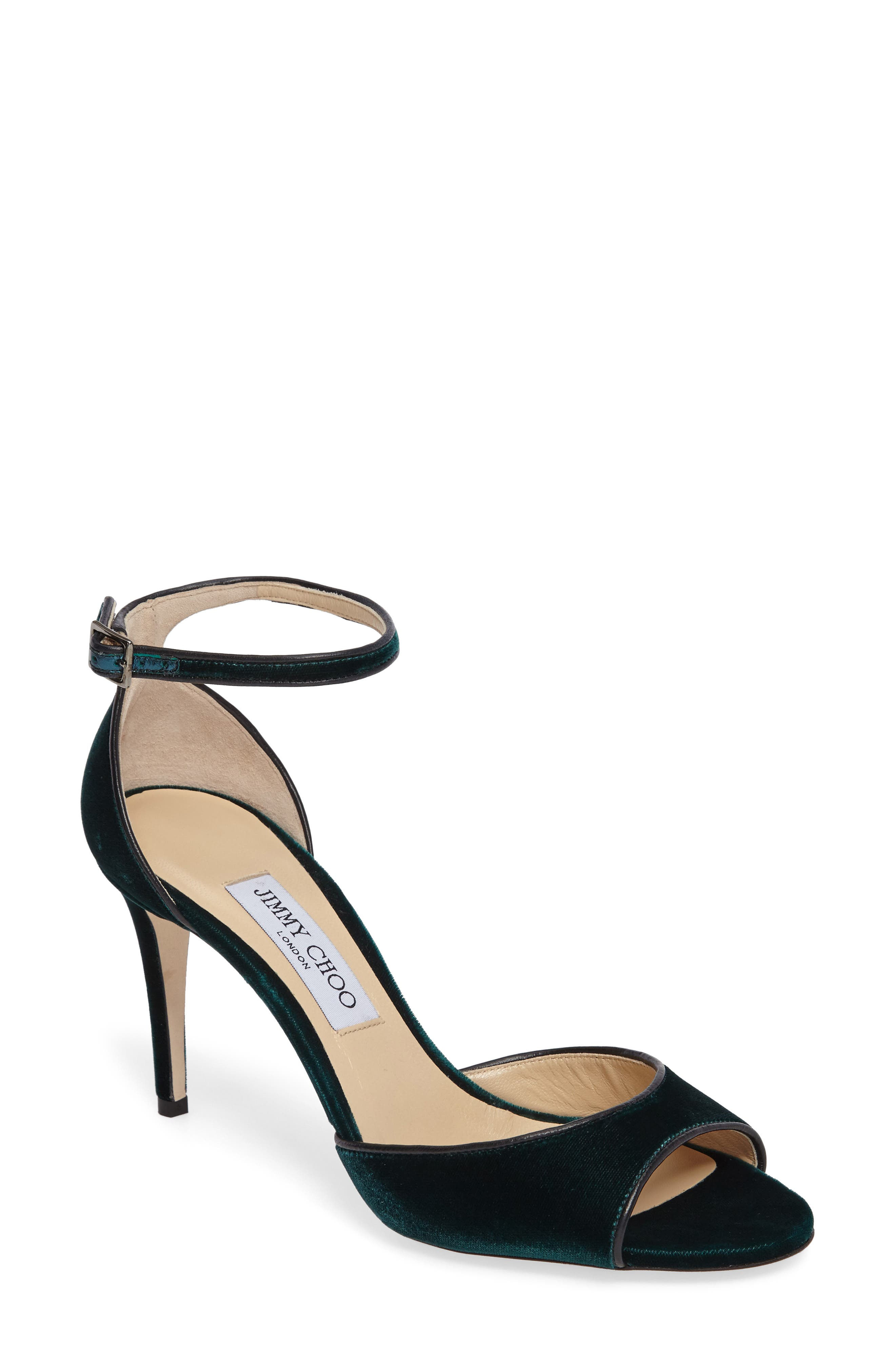 JIMMY CHOO Annie Ankle Strap Sandal, Main, color, 300
