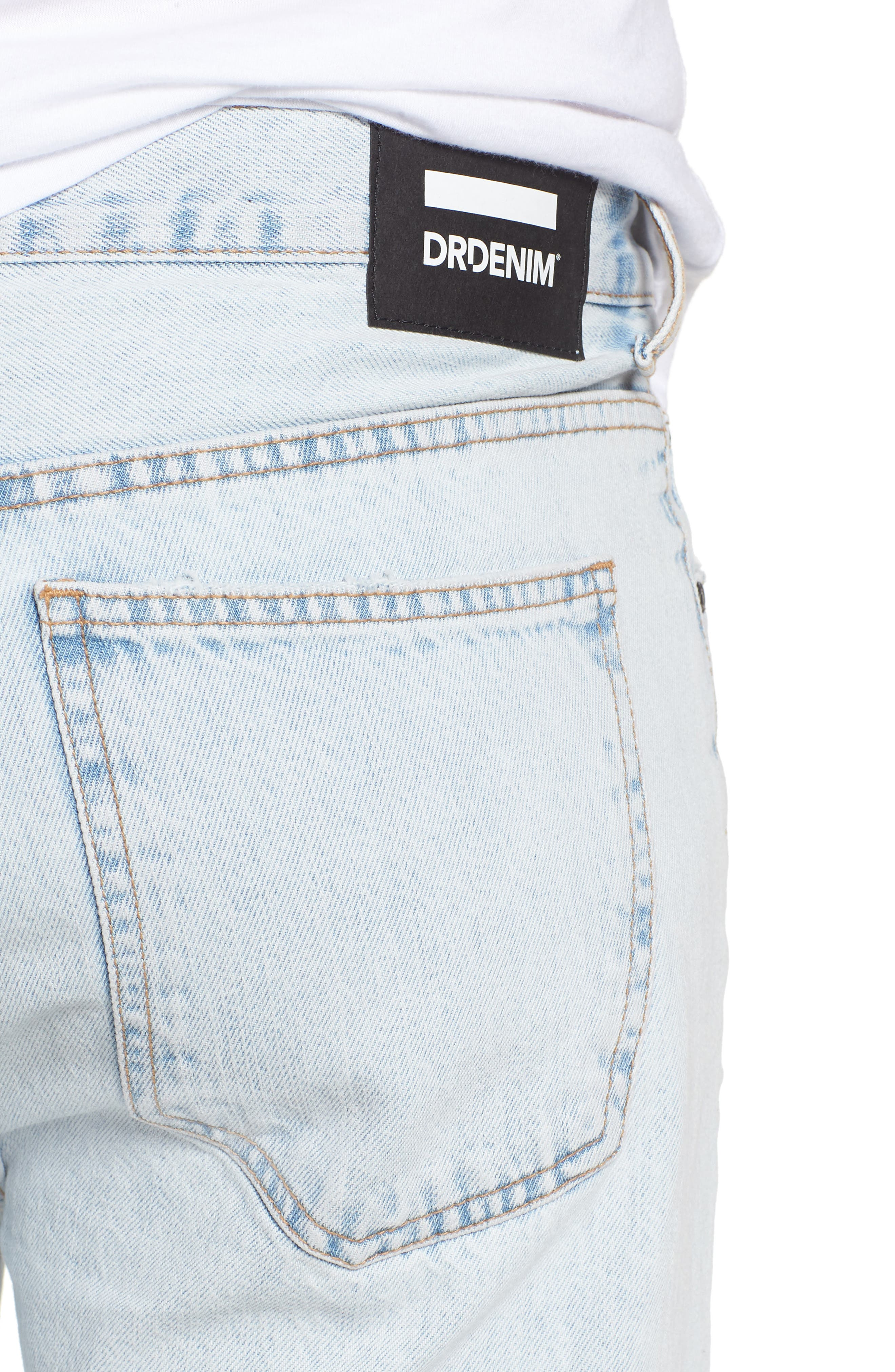 Otis Straight Fit Jeans,                             Alternate thumbnail 4, color,                             401
