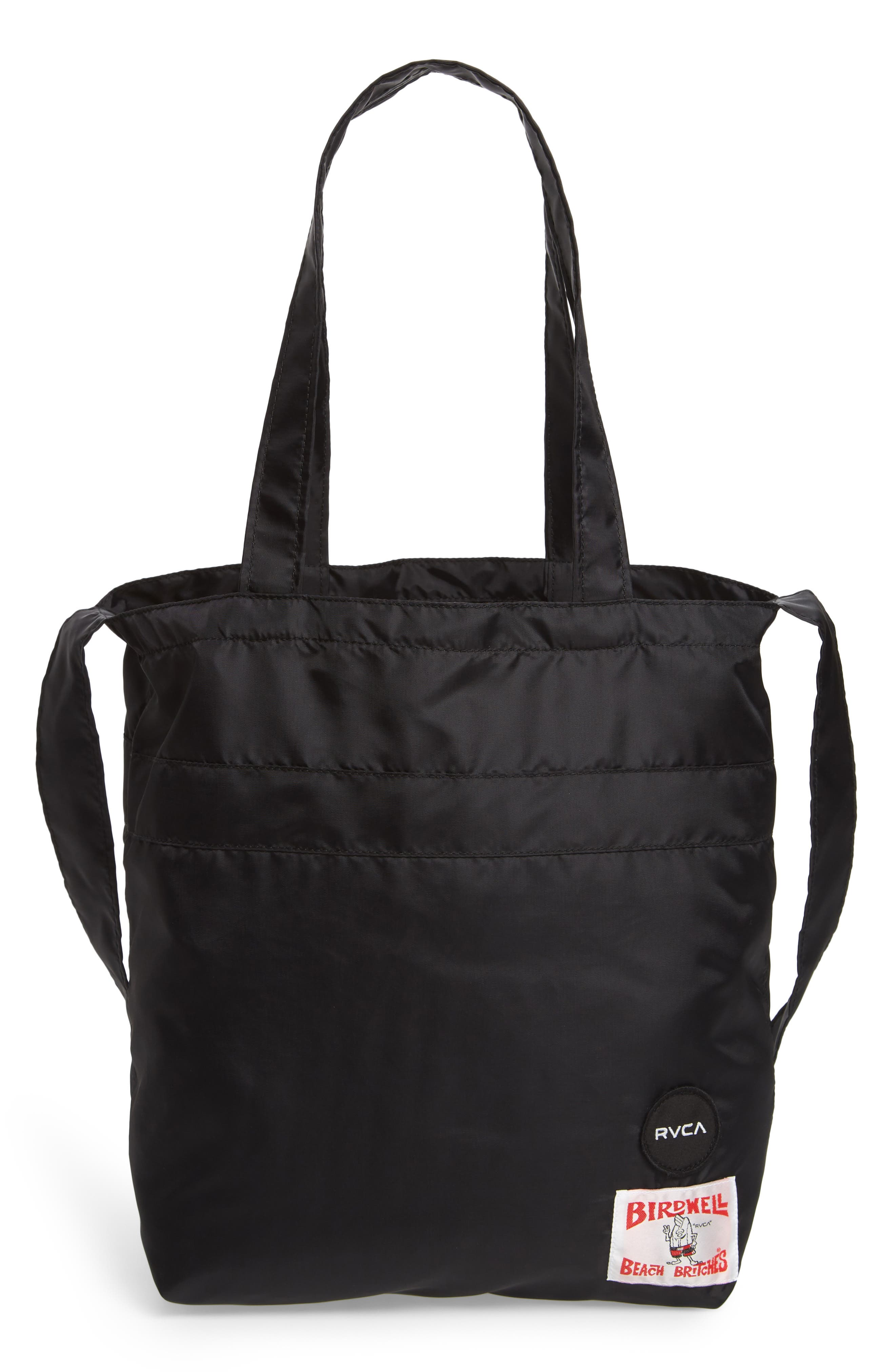 Bomber Nylon Tote,                             Main thumbnail 1, color,                             001