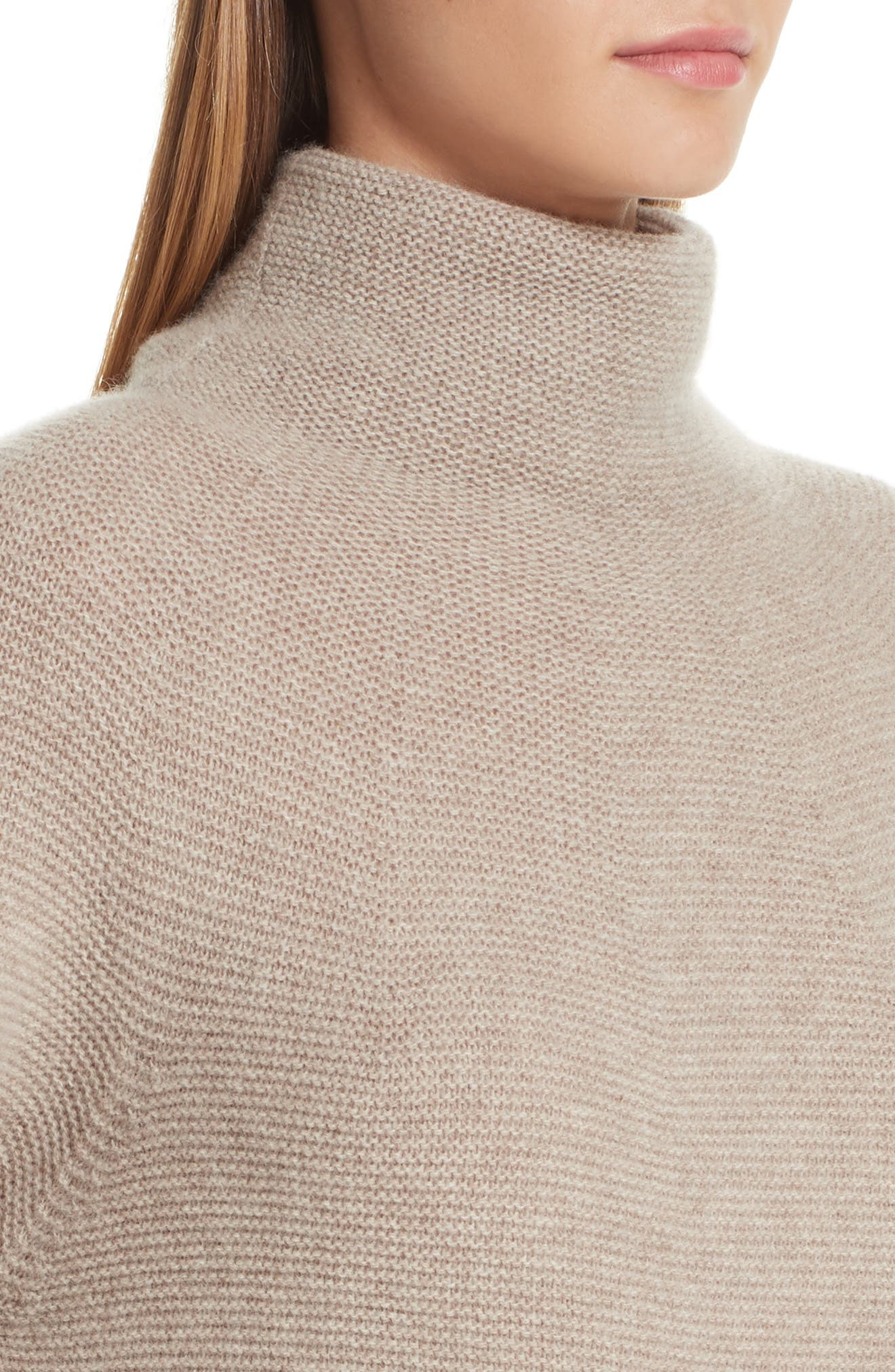 MAX MARA,                             Etrusco Wool & Cashmere Turtleneck Sweater,                             Alternate thumbnail 4, color,                             050