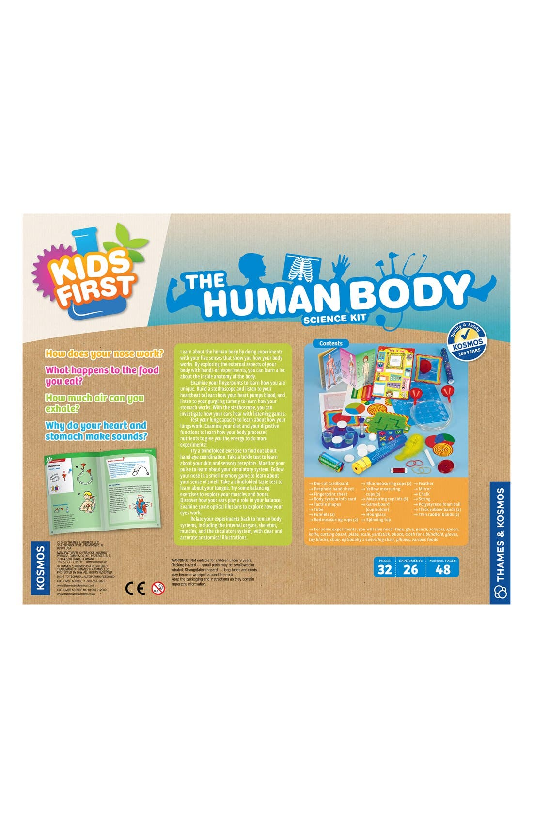 'The Human Body' Science Kit,                             Alternate thumbnail 3, color,                             400