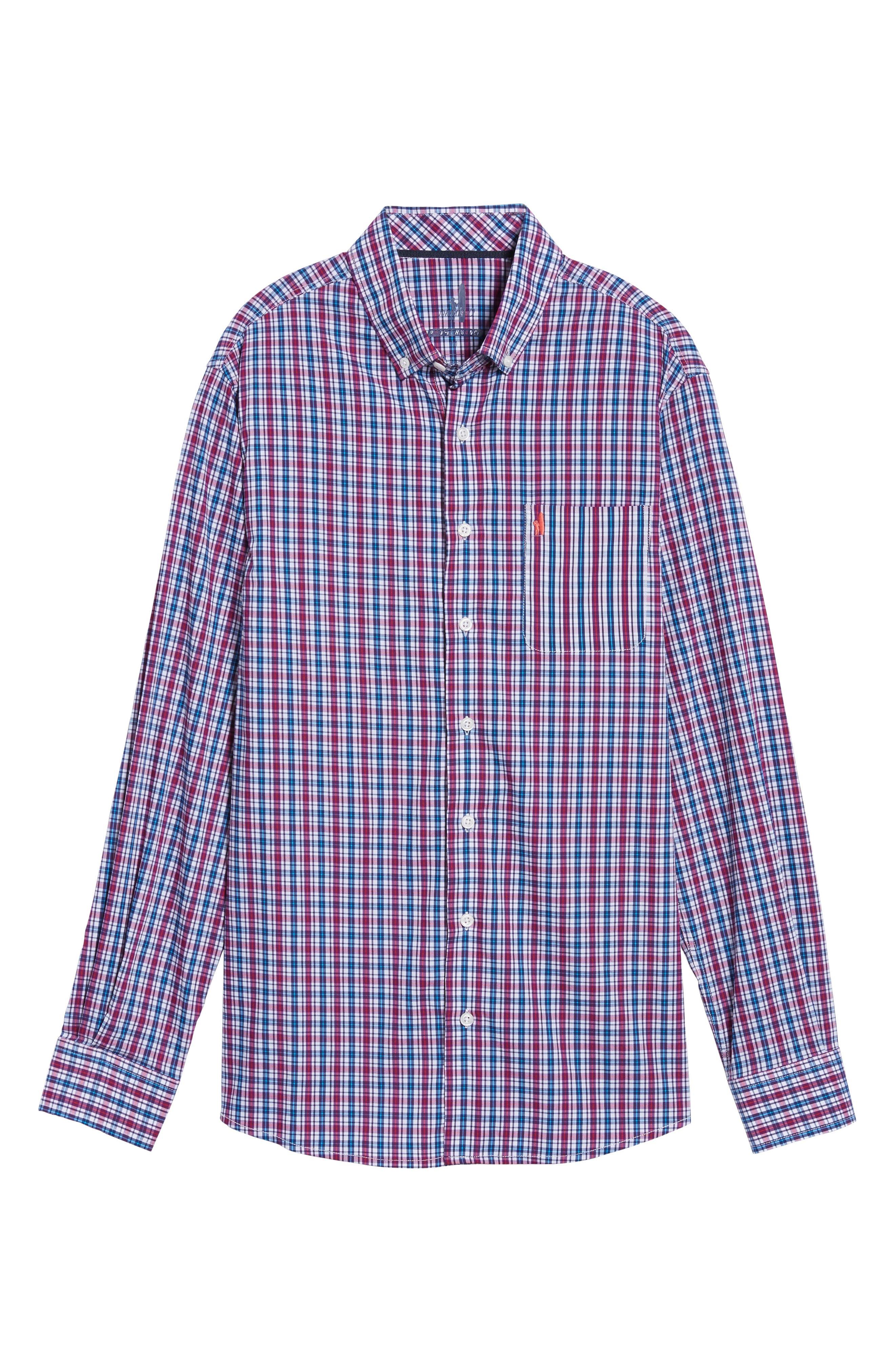 Parklan Check Sport Shirt,                             Alternate thumbnail 6, color,                             514
