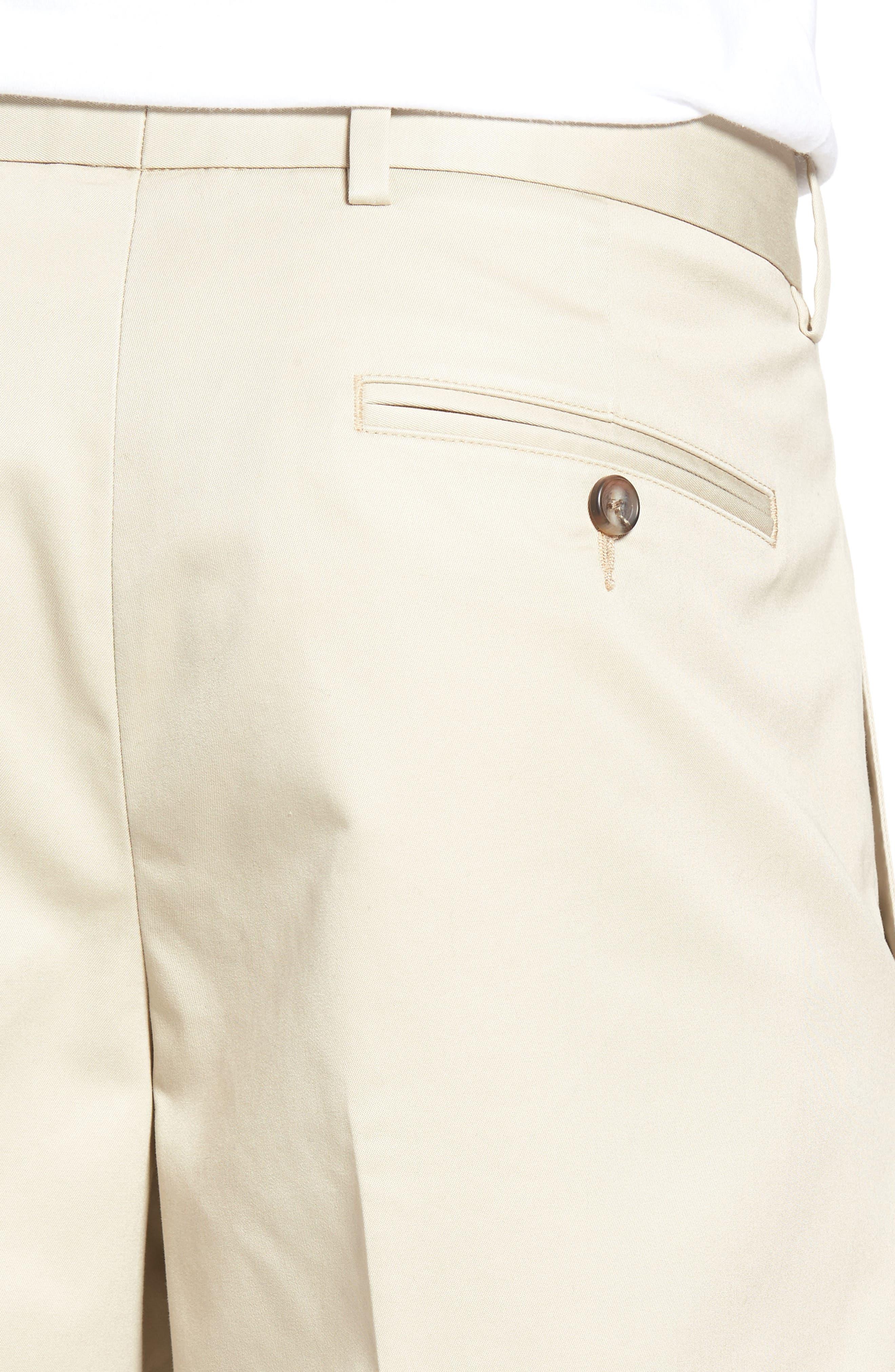 Pleated Supima<sup>®</sup> Cotton Shorts,                             Alternate thumbnail 19, color,