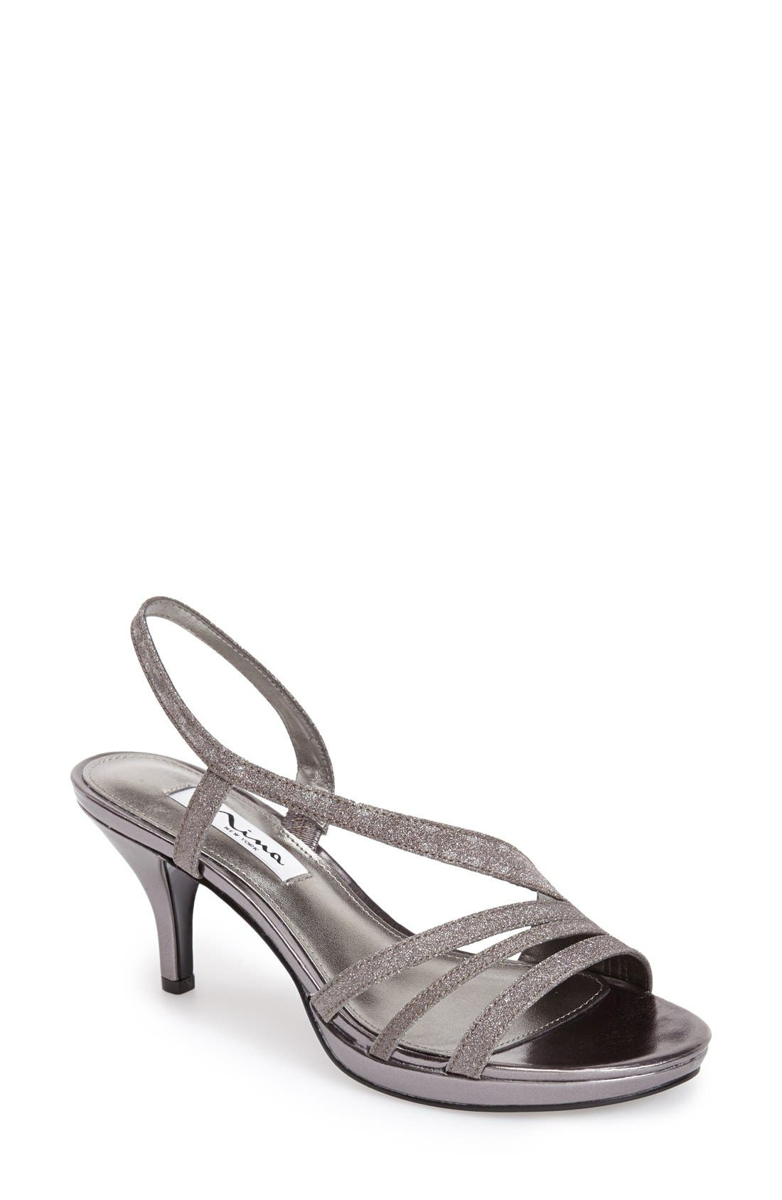 6df92c4cb52 Nina  Neely  Slingback Platform Sandal