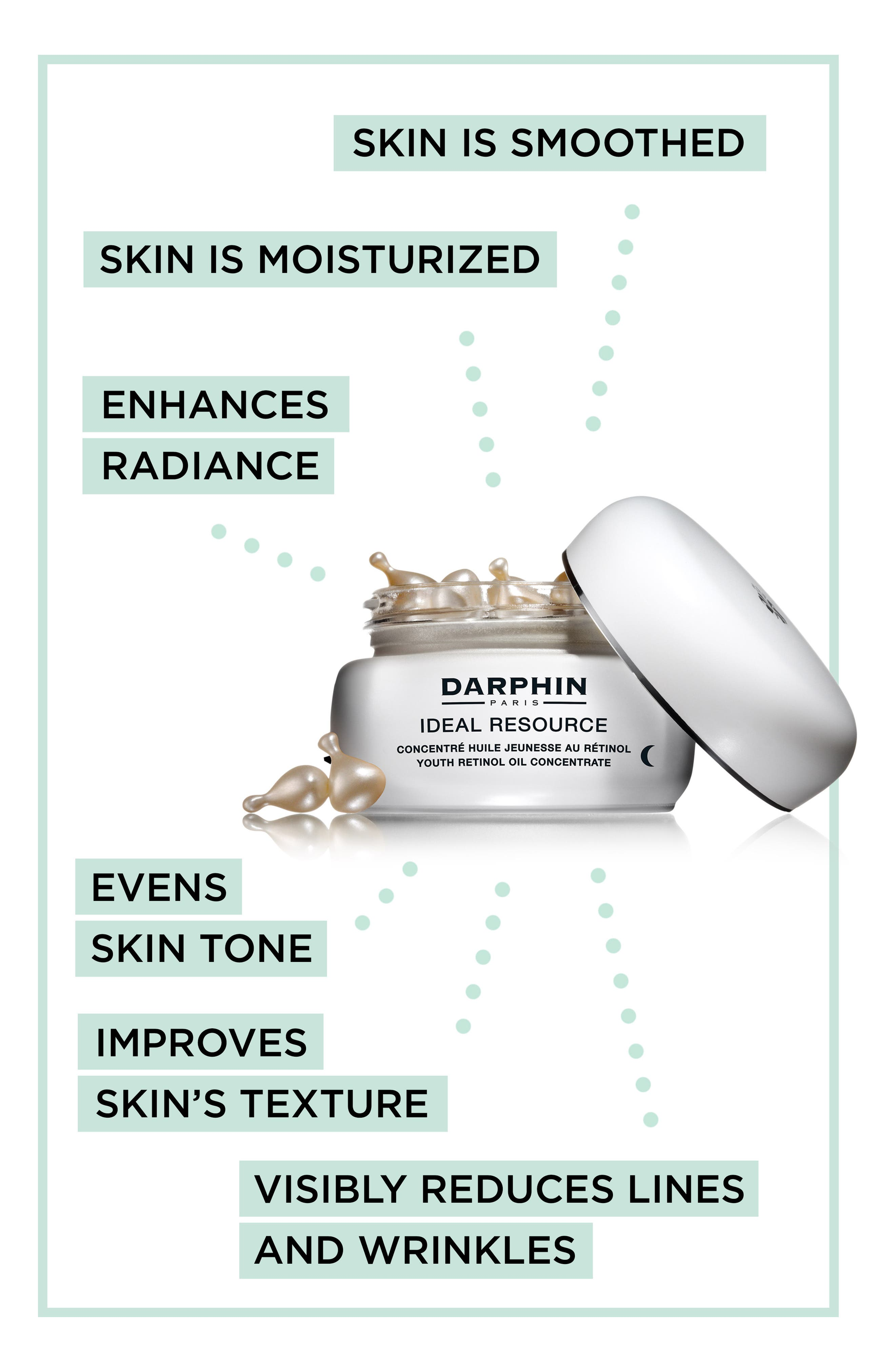DARPHIN,                             Ideal Resource Youth Retinol Oil Concentrate,                             Alternate thumbnail 8, color,                             NO COLOR