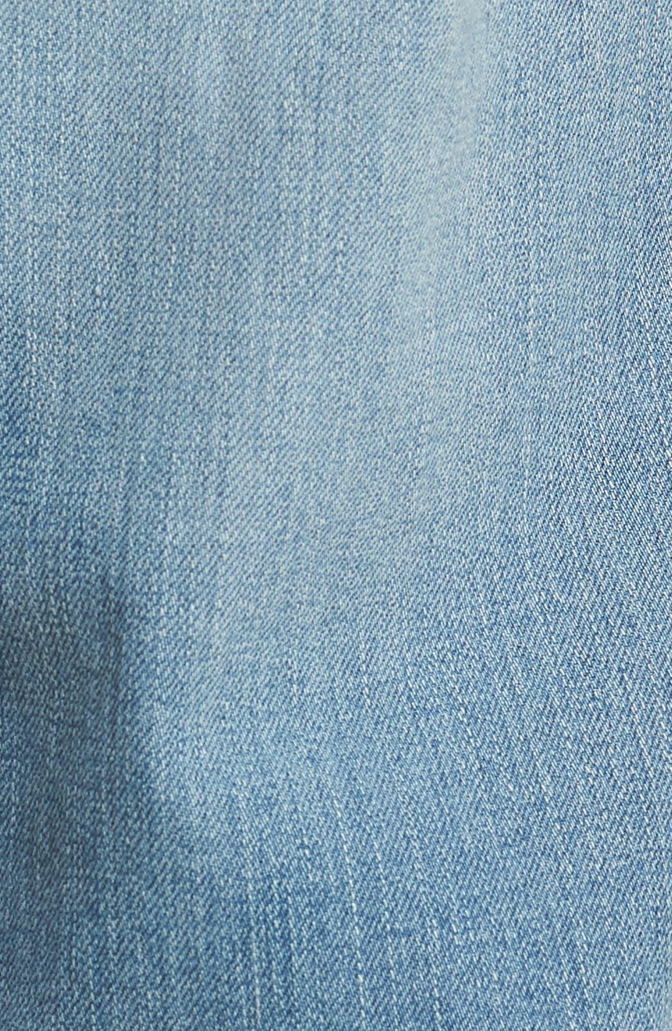Graduate Slim Straight Leg Jeans,                             Alternate thumbnail 5, color,                             19 YEARS CHANNEL