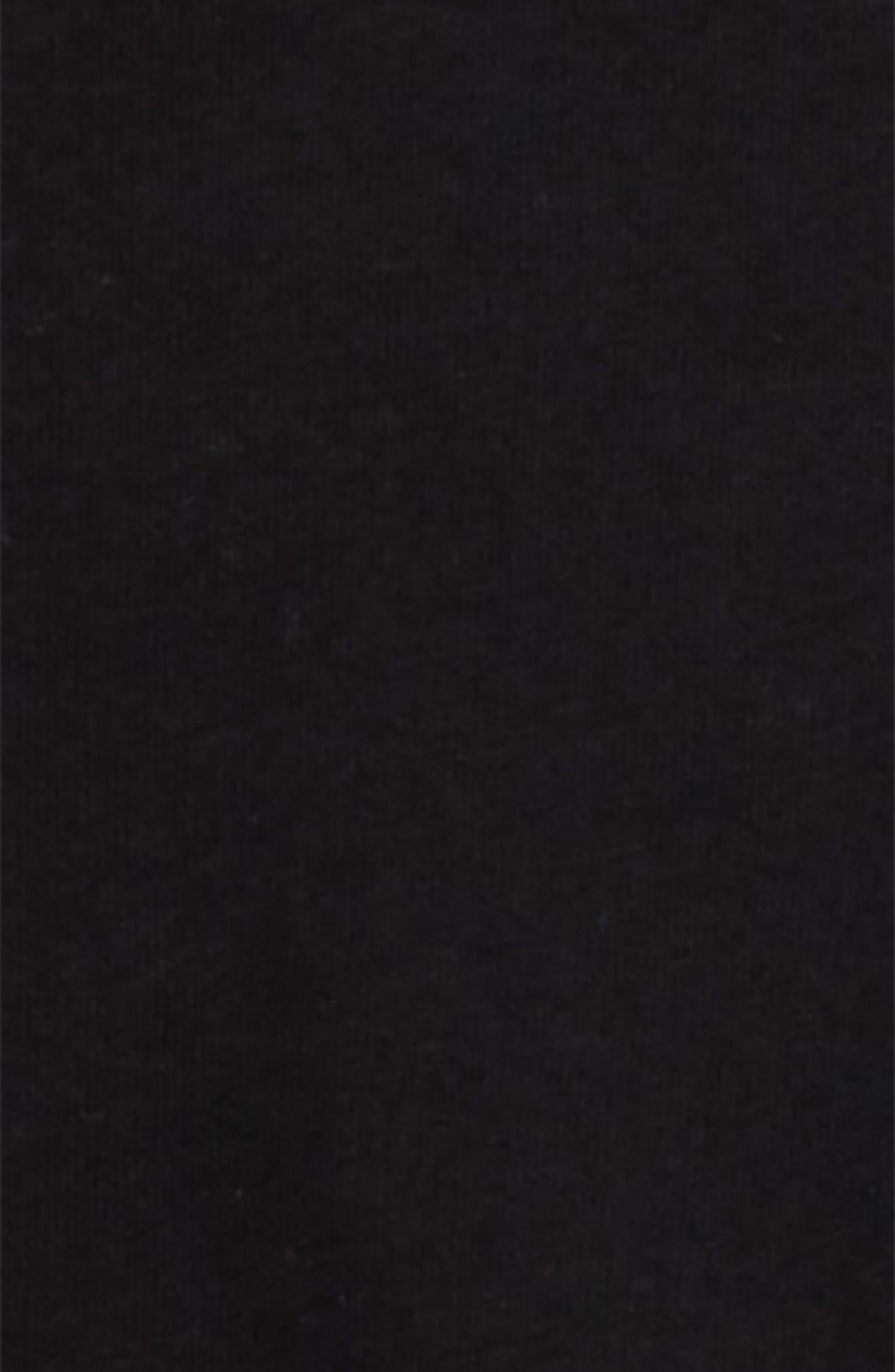 Colorblock Top & Pants Set,                             Alternate thumbnail 3, color,                             BLACK