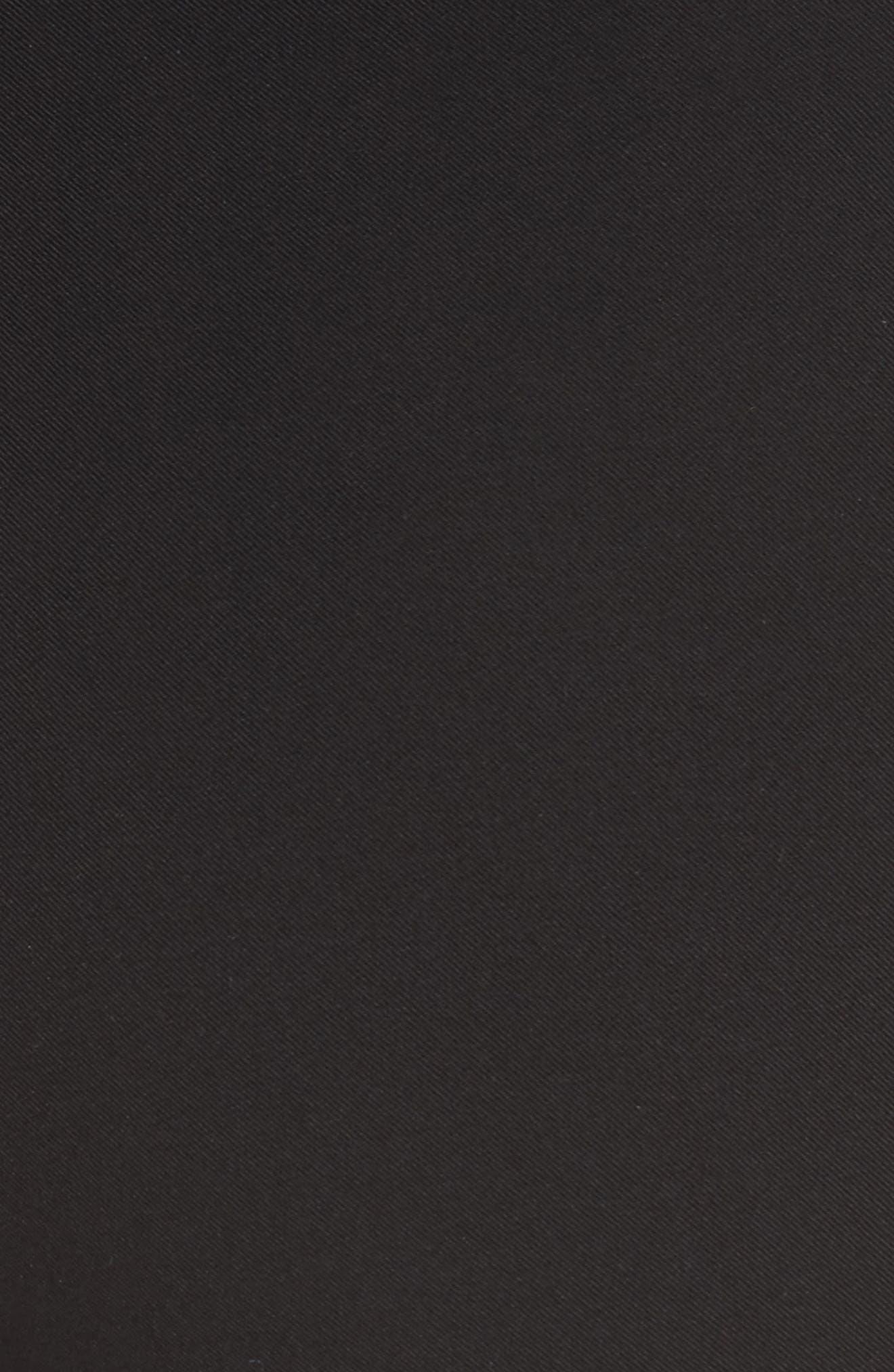 Lenny Slim Stretch Cotton Pants,                             Alternate thumbnail 5, color,                             001