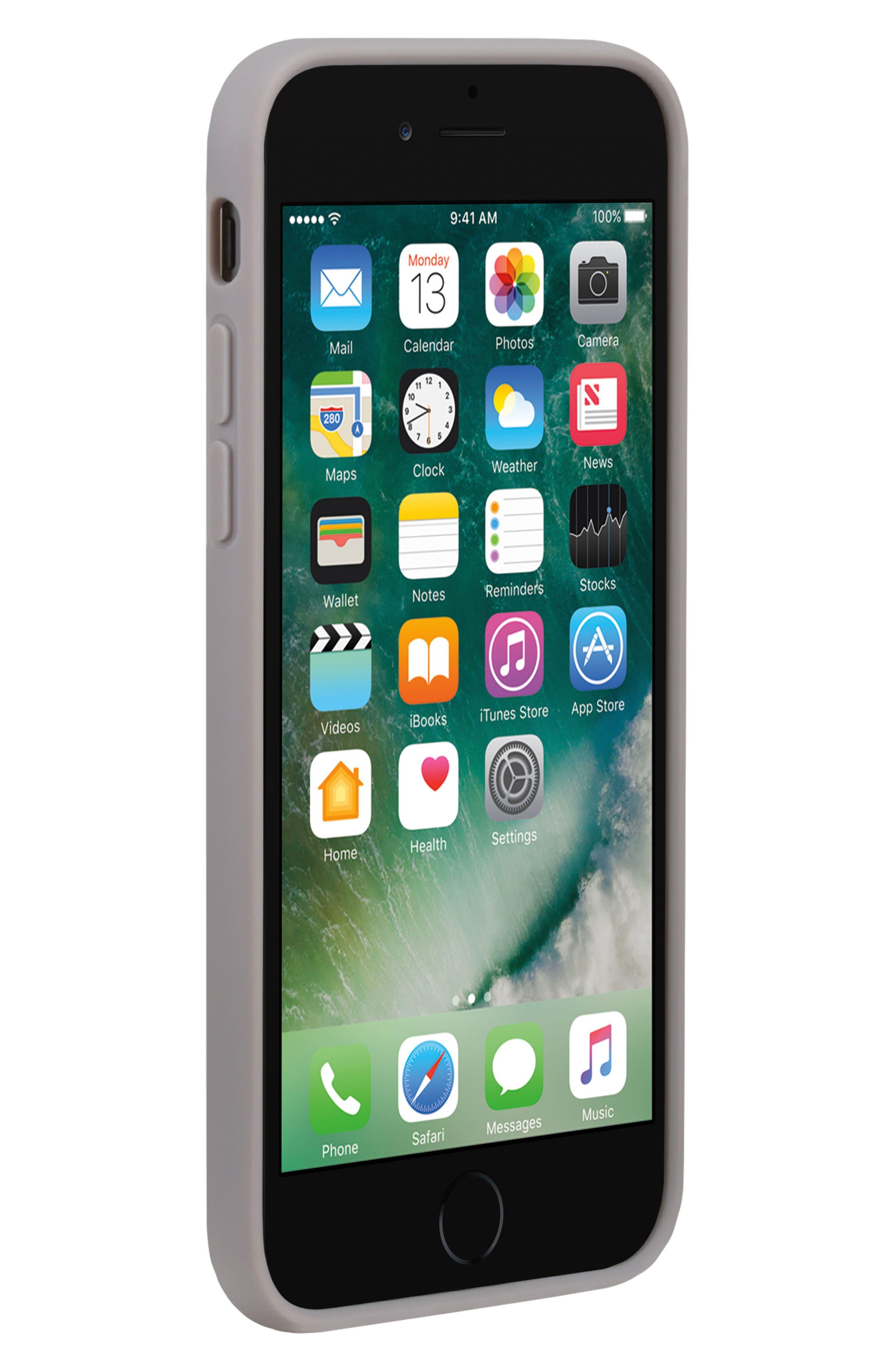 Pop Case Clear iPhone 7 Plus/8 Plus Case,                             Alternate thumbnail 5, color,                             100
