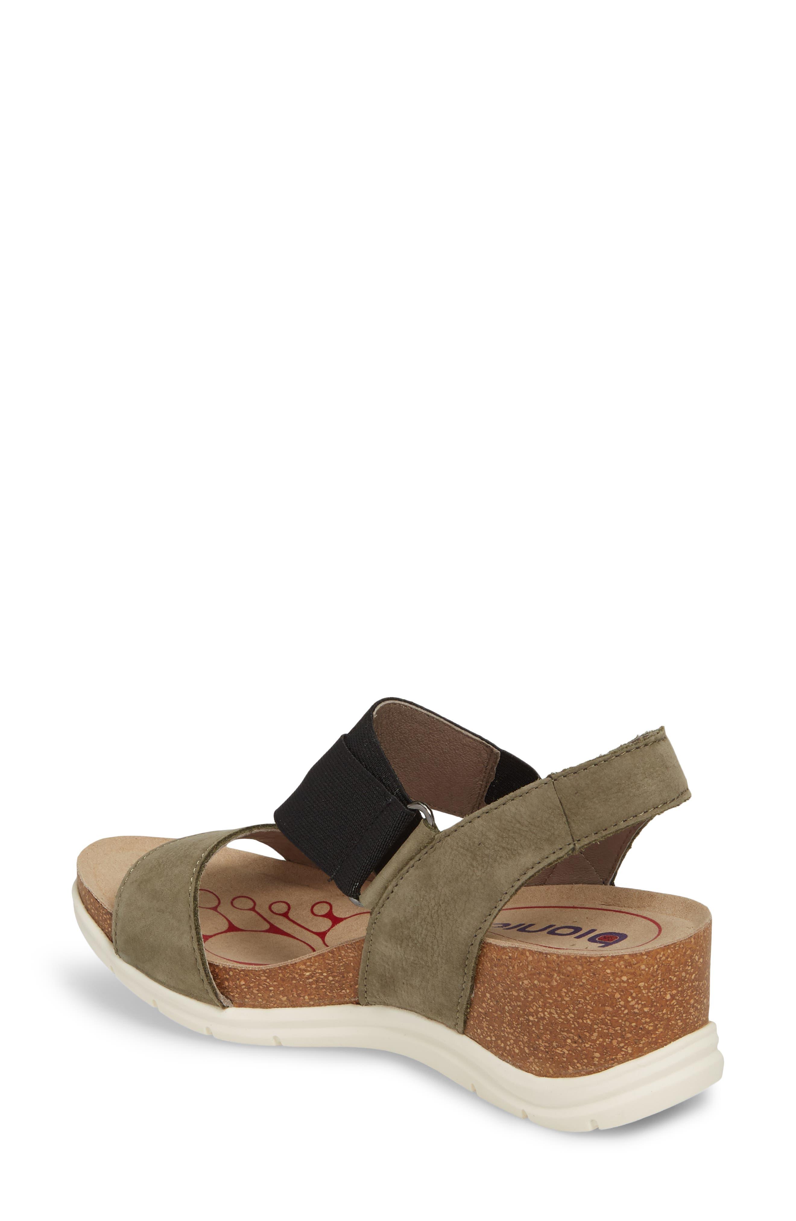 Paisley Wedge Sandal,                             Alternate thumbnail 7, color,