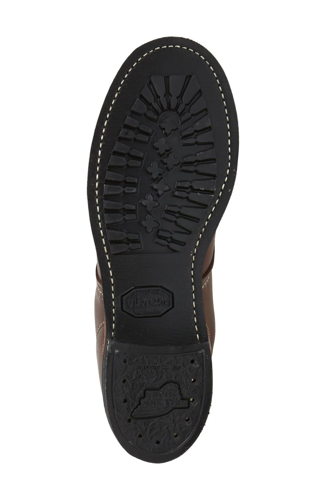 'Cooper' Moc Toe Boot,                             Alternate thumbnail 4, color,                             200
