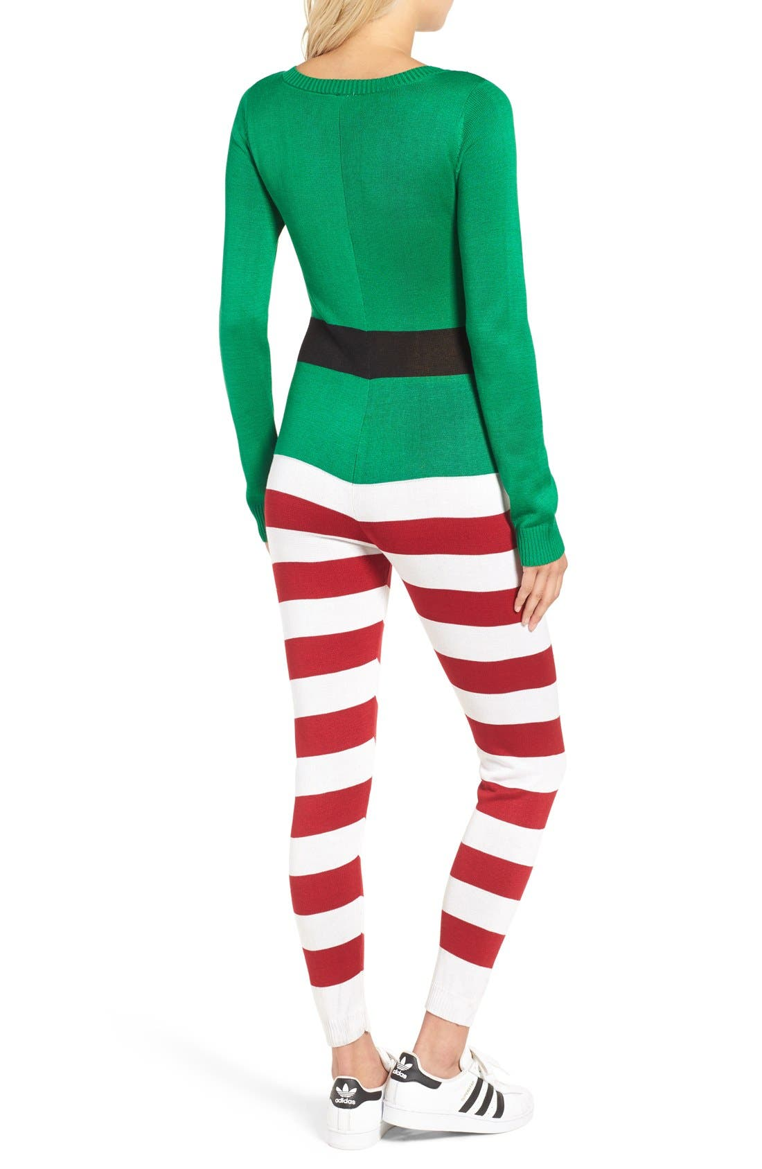LOVE BY DESIGN,                             Christmas One-Piece Pajamas,                             Alternate thumbnail 5, color,                             314