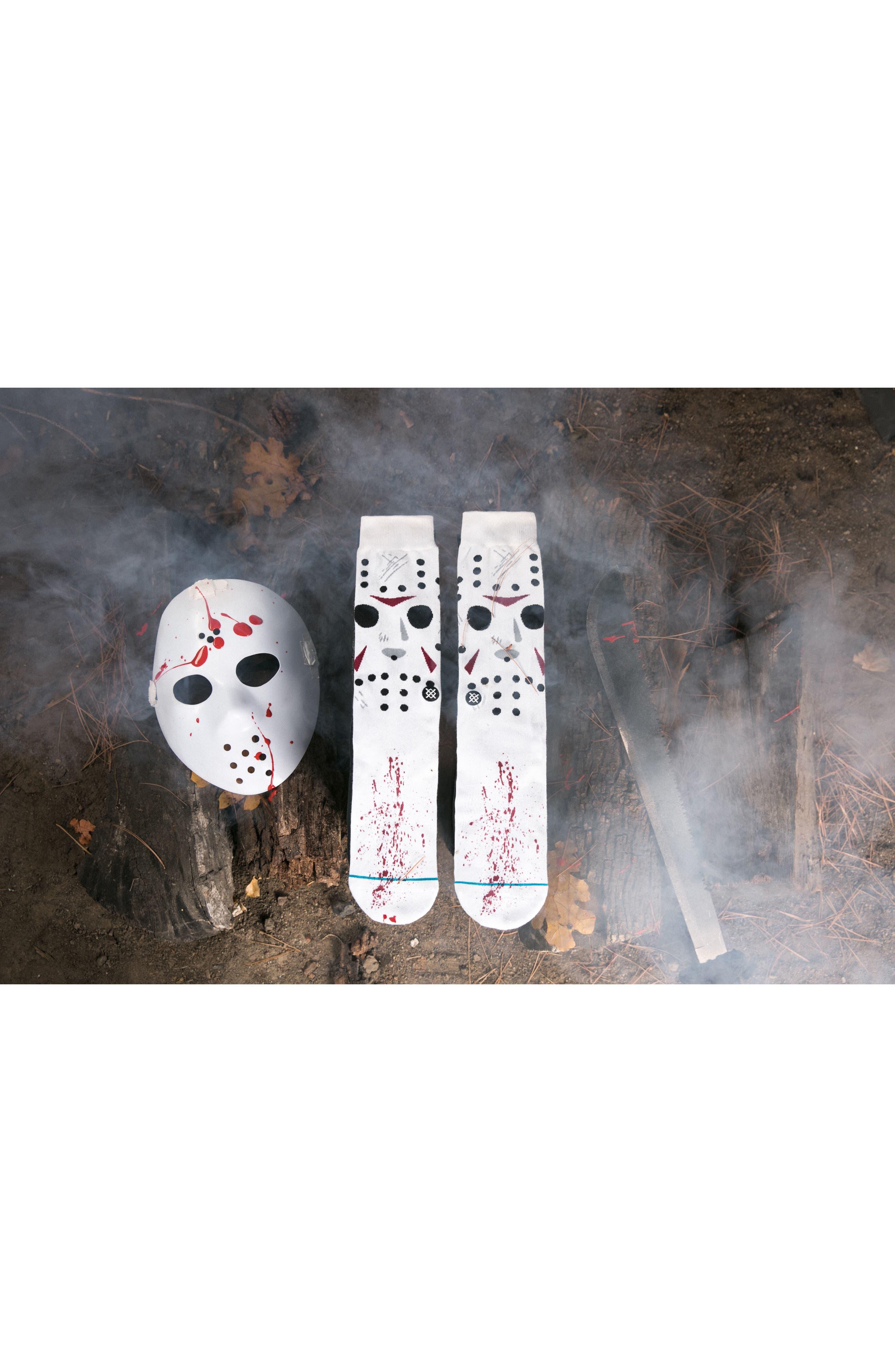 Jason - Legends of Horror Socks,                             Alternate thumbnail 5, color,                             100