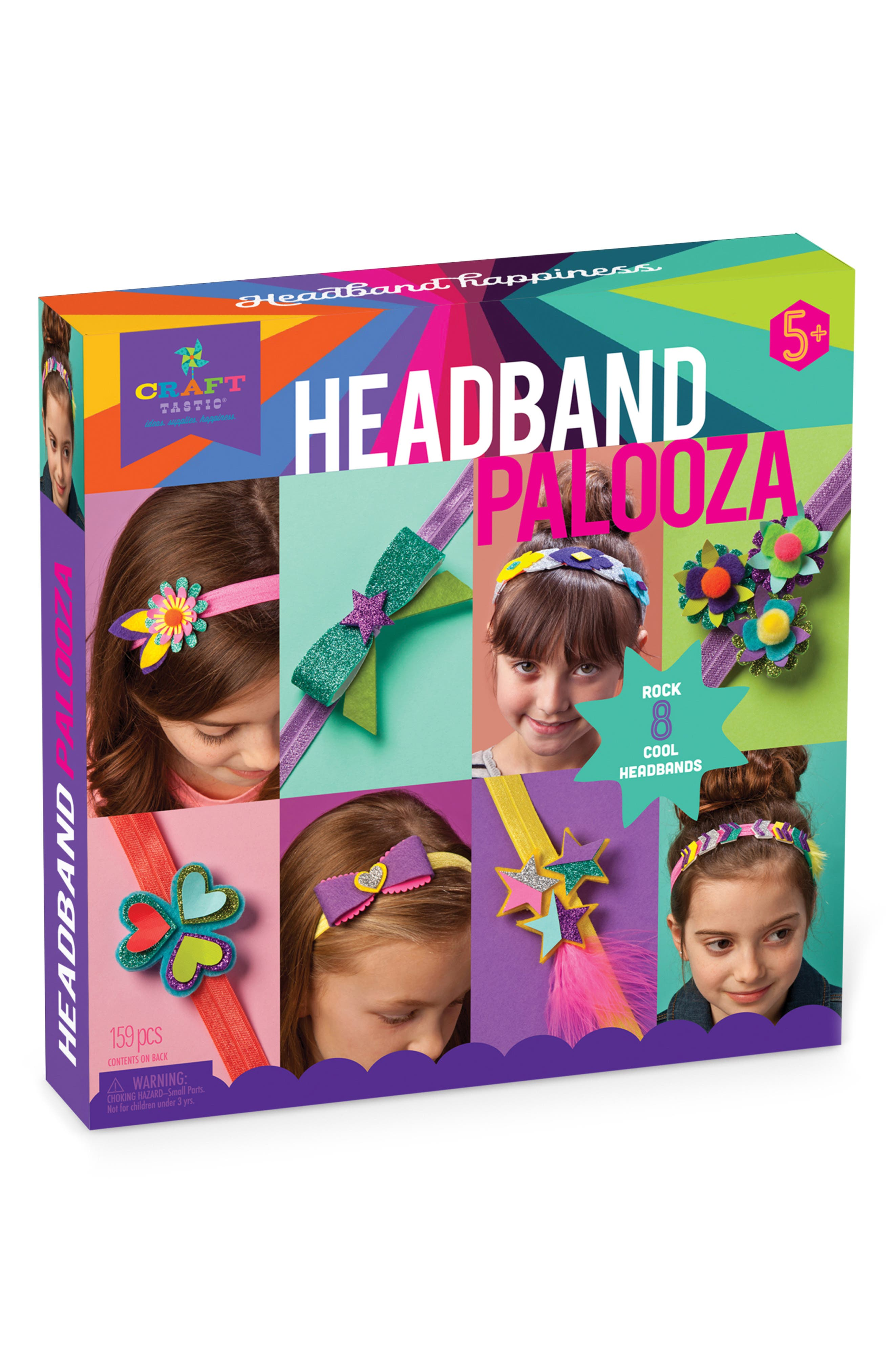 Headband Palooza Crafting Kit,                         Main,                         color, 500