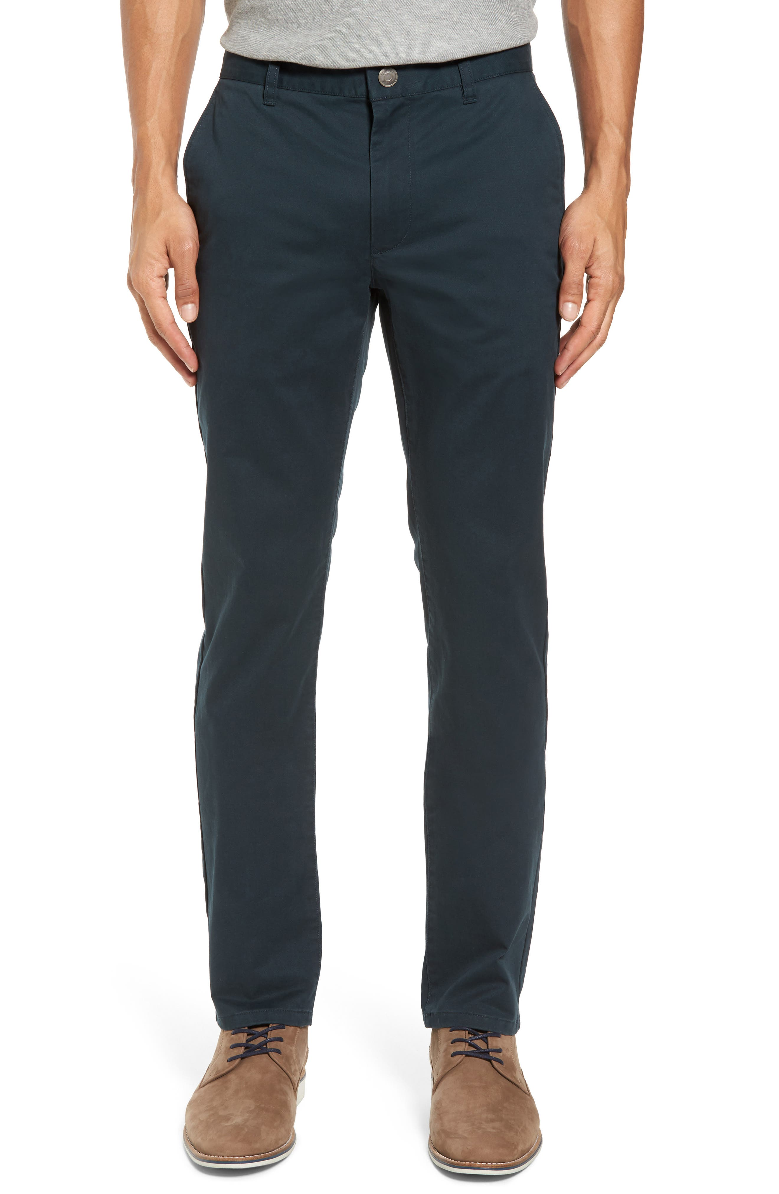 Tailored Fit Washed Stretch Cotton Chinos,                             Main thumbnail 17, color,