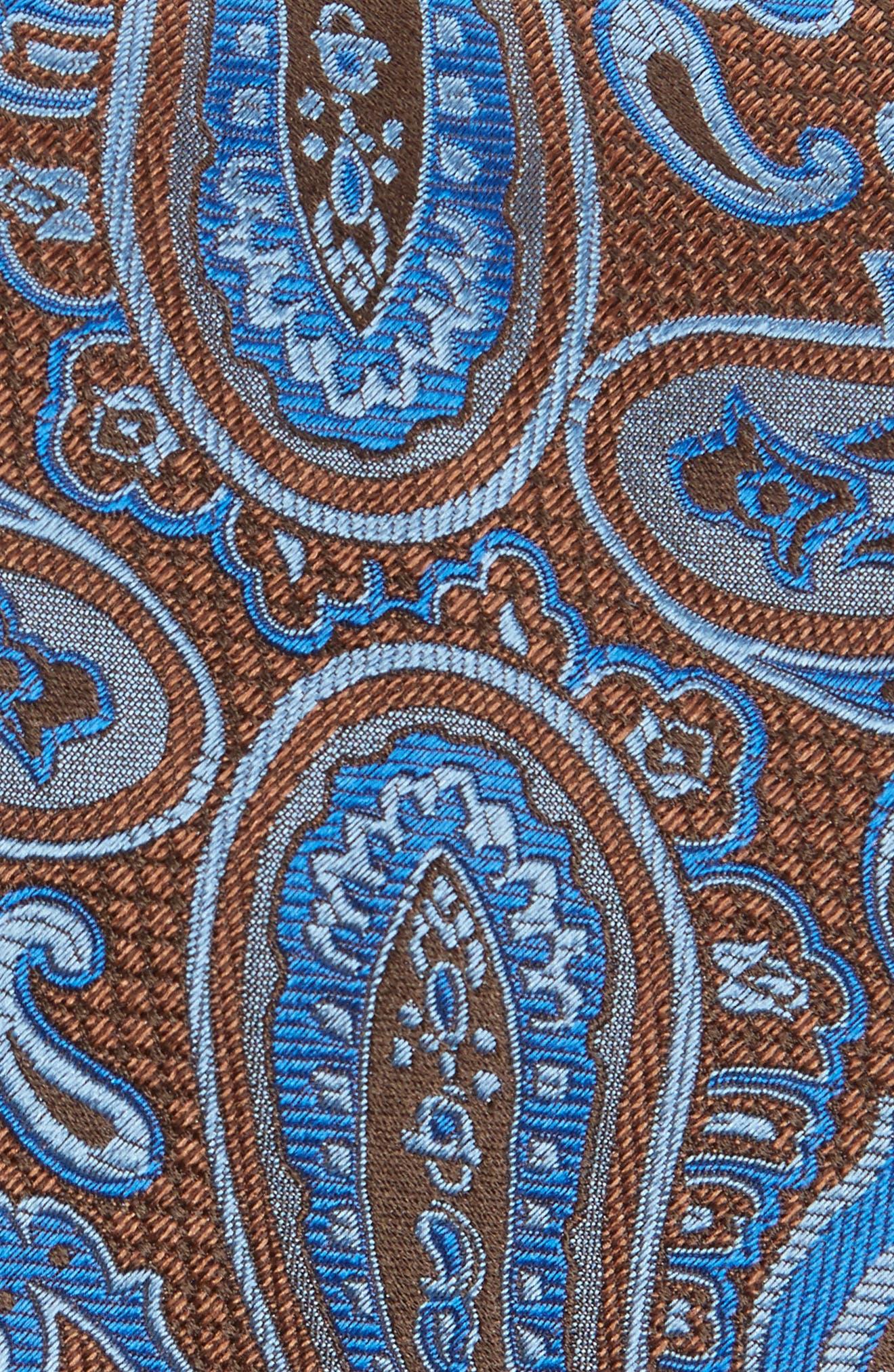 Paisley Silk Tie,                             Alternate thumbnail 5, color,