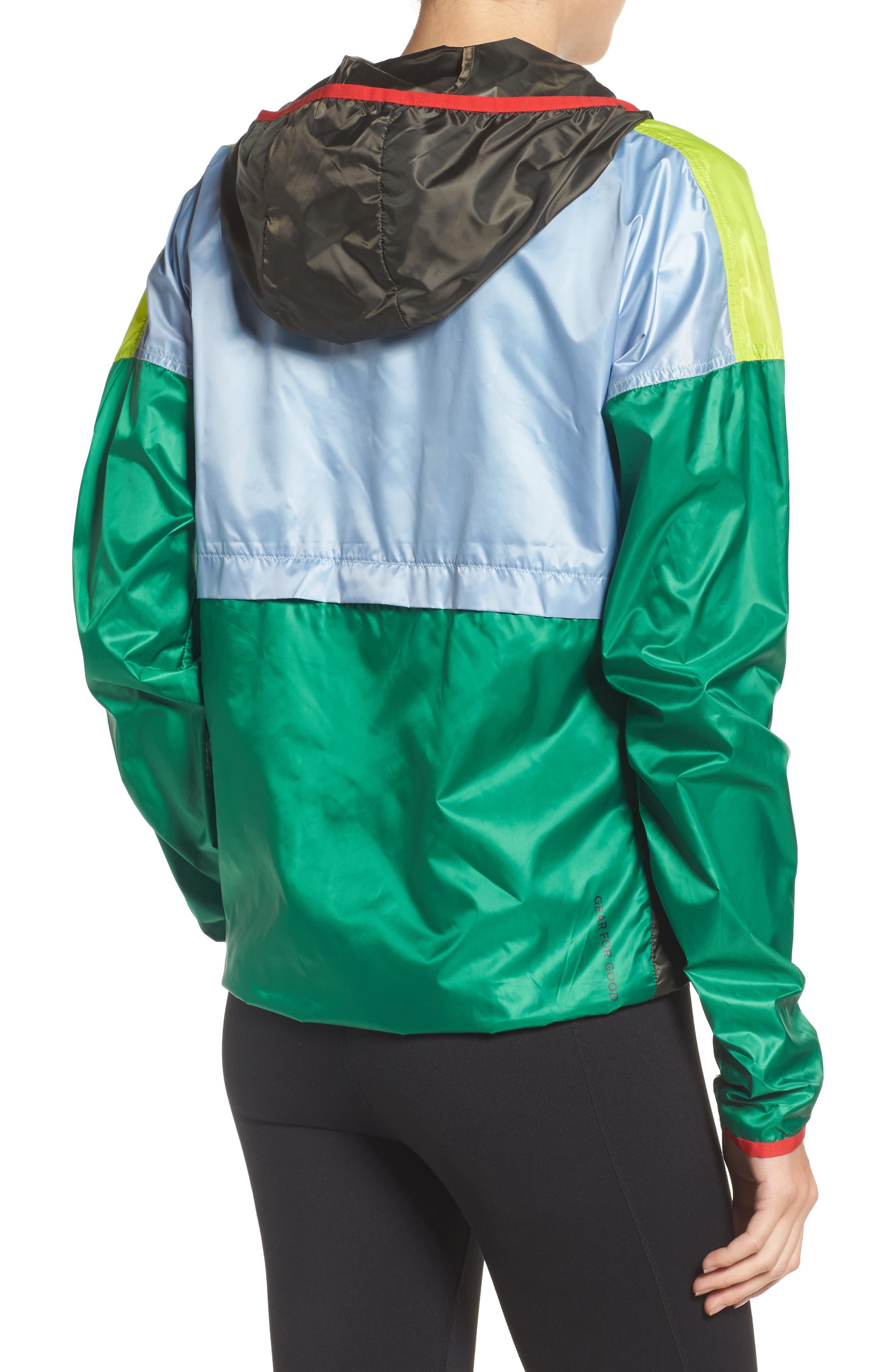 Teca Packable Water Resistant Windbreaker Jacket,                             Alternate thumbnail 12, color,