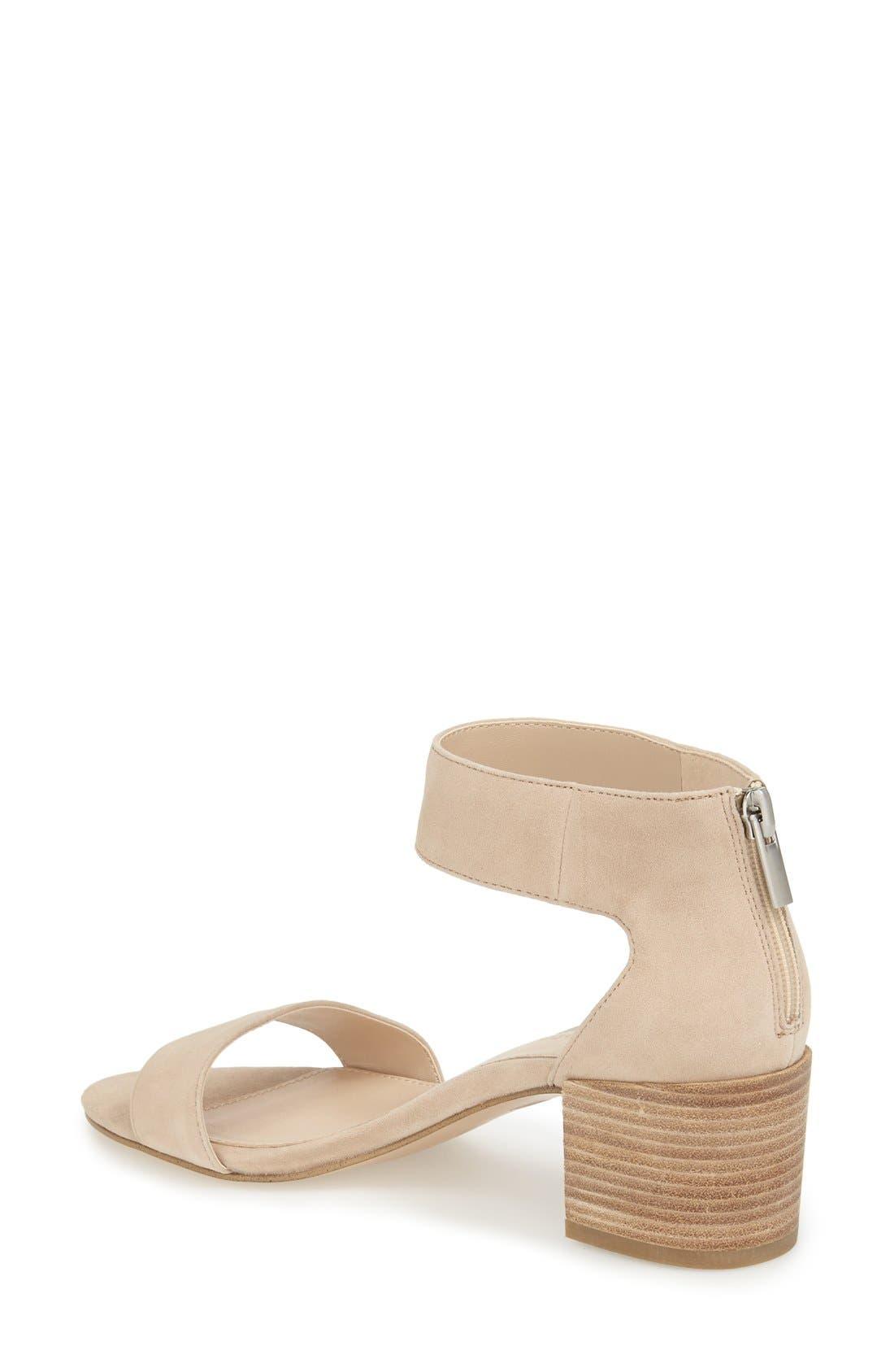 Pella Moda 'Urban' Block Heel Sandal,                             Alternate thumbnail 6, color,
