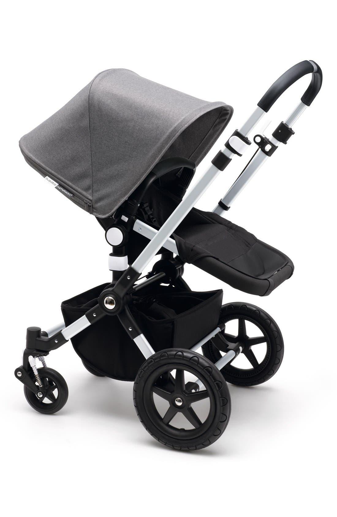 Cameleon³ Complete Stroller,                             Main thumbnail 1, color,                             ALUMINUM/ BLACK