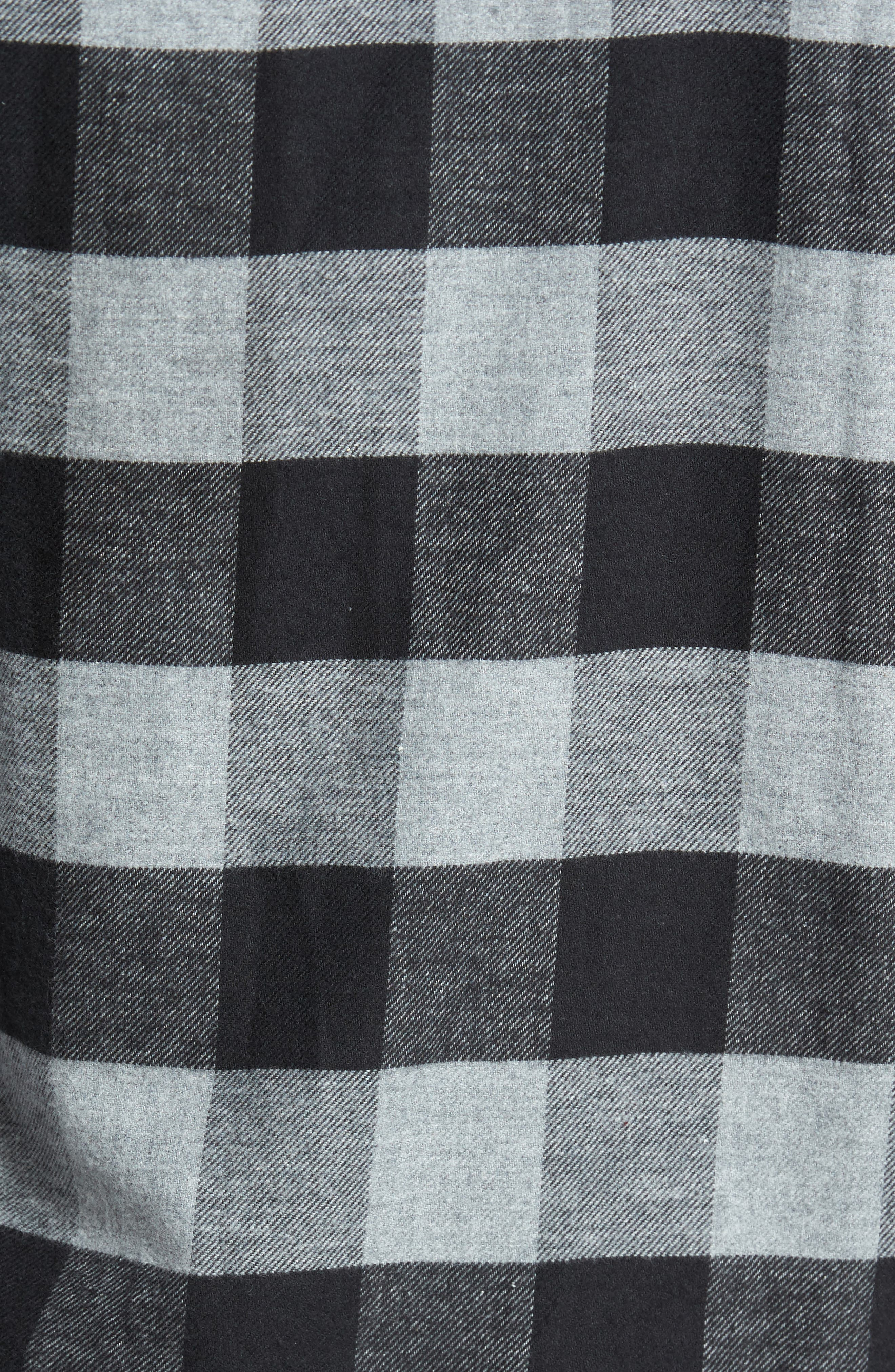 Buffalo Check Flannel Shirt,                             Alternate thumbnail 9, color,