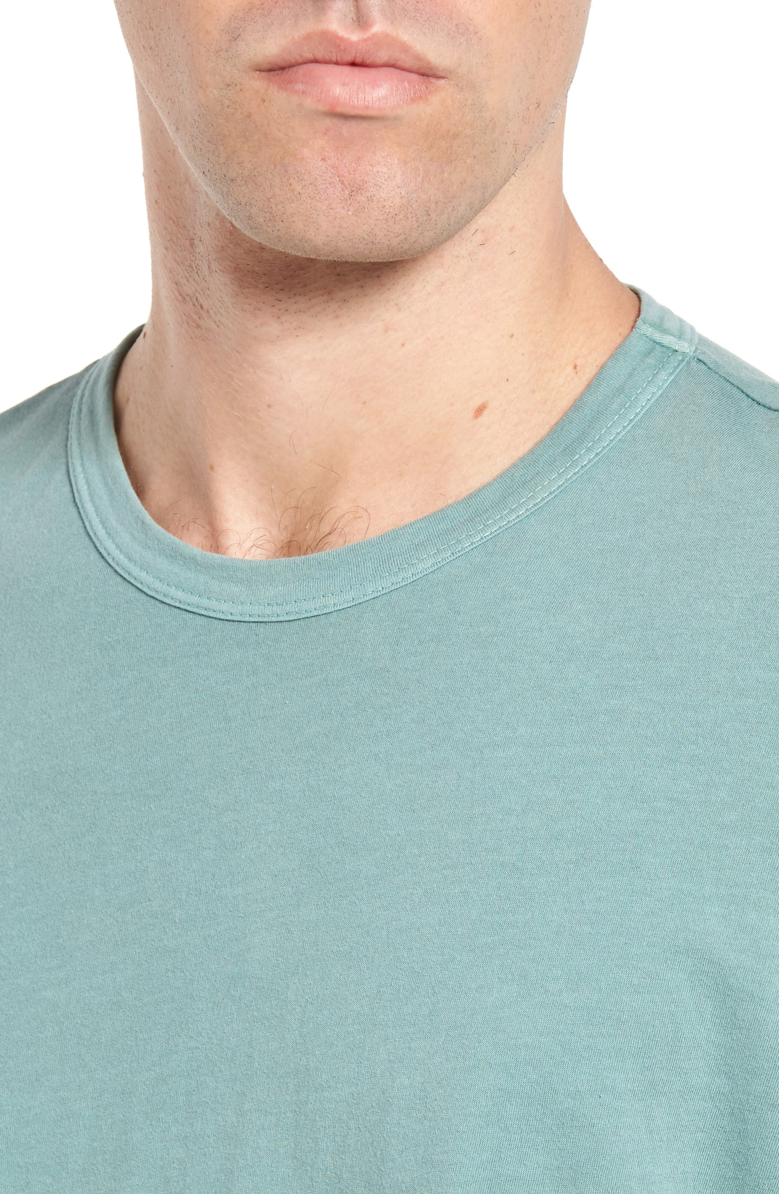 Crewneck Jersey T-Shirt,                             Alternate thumbnail 413, color,
