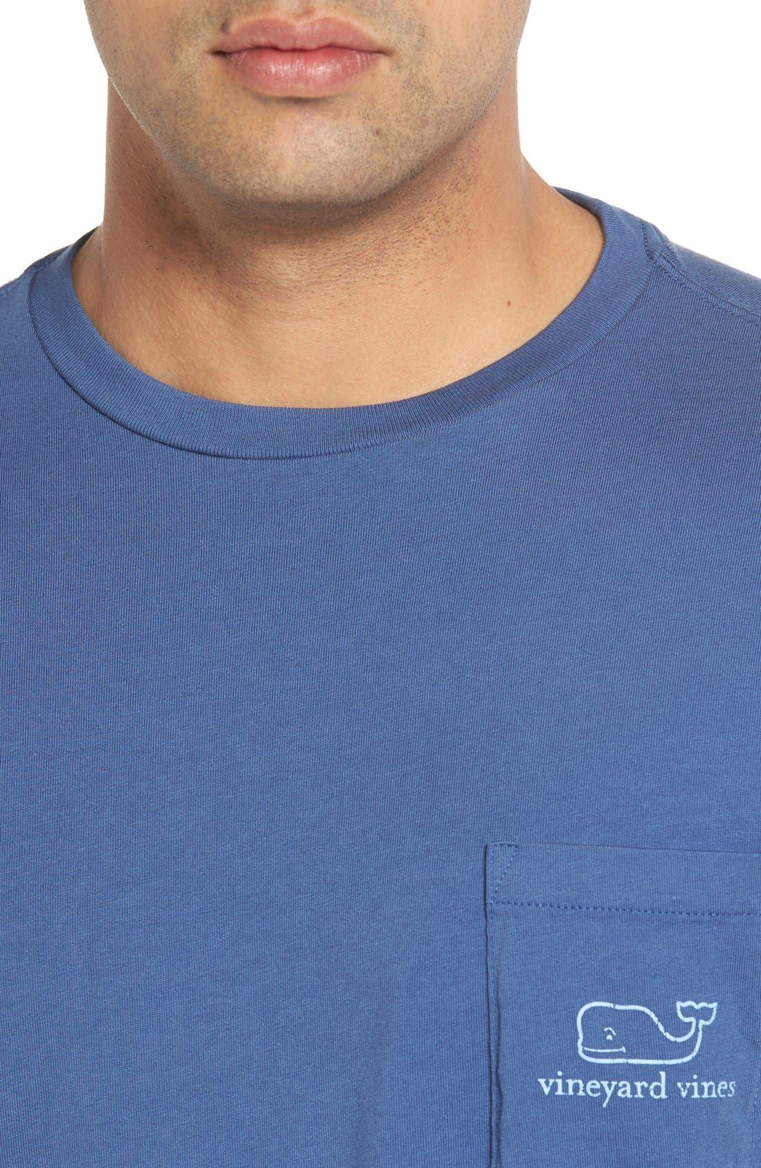 Vintage Whale Pocket T-Shirt,                             Alternate thumbnail 3, color,                             461