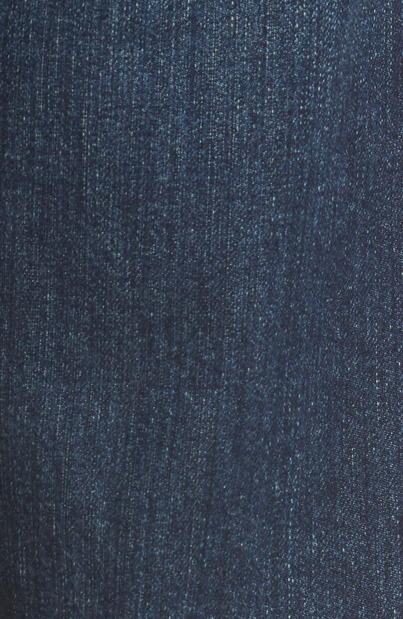 Sid Straight Leg Jeans,                             Alternate thumbnail 5, color,                             BLAZE