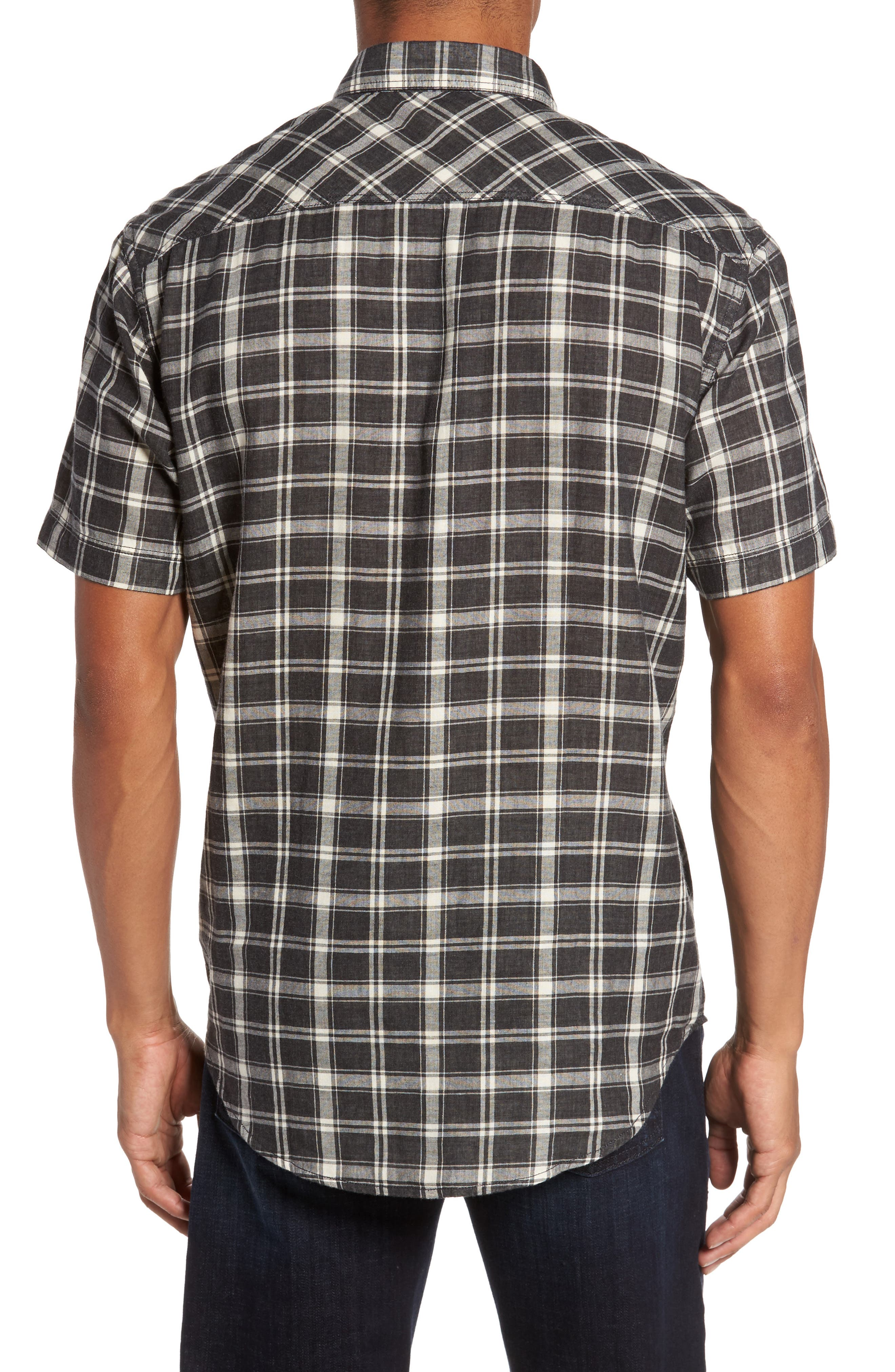 Hansen Regular Fit Plaid Sport Shirt,                             Alternate thumbnail 2, color,                             010