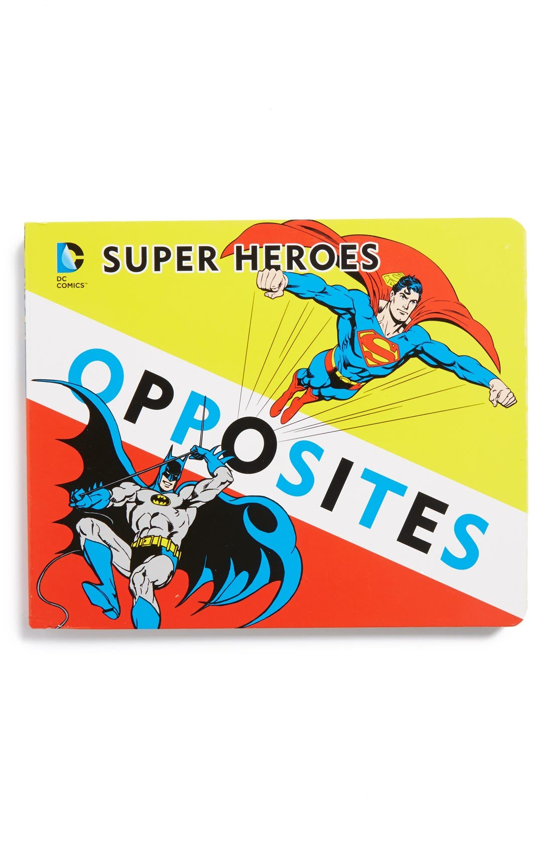 'Superhero Opposites' Board Book,                             Main thumbnail 1, color,                             960