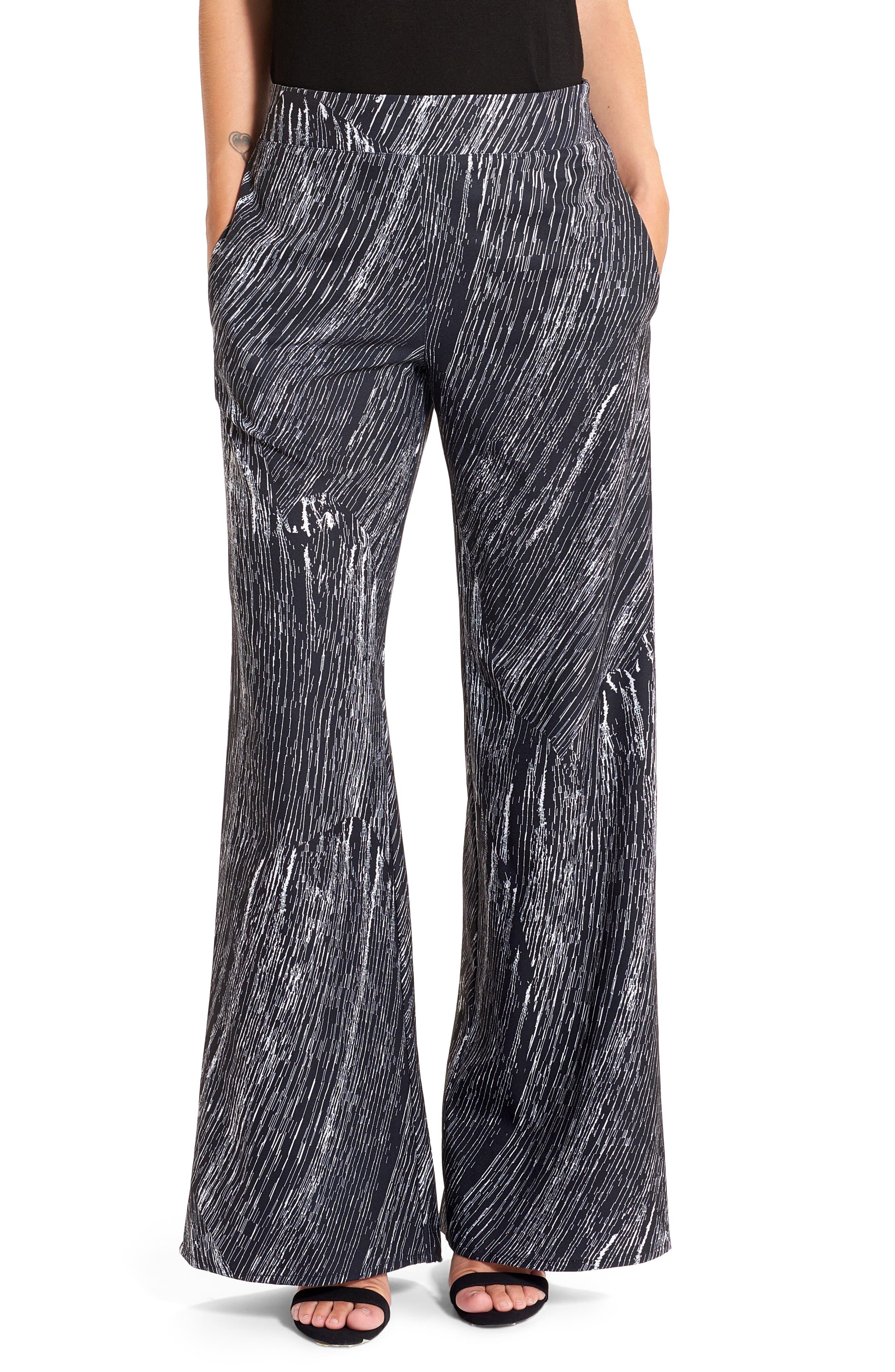 Wide Leg Pants,                             Main thumbnail 1, color,                             001
