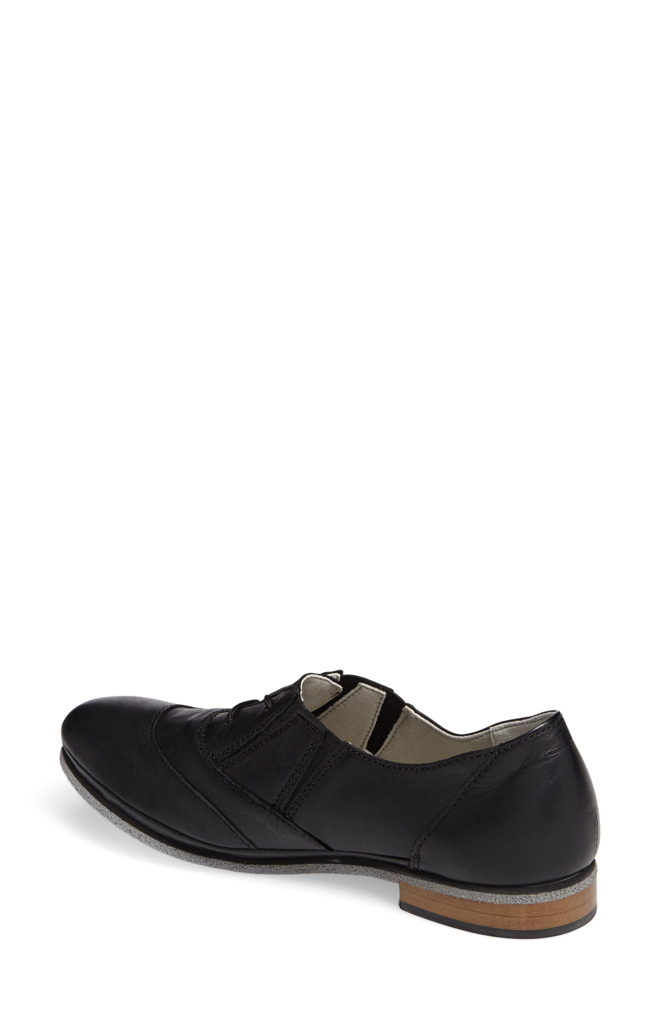 Bliss Lace-Up Oxford,                             Alternate thumbnail 2, color,                             001