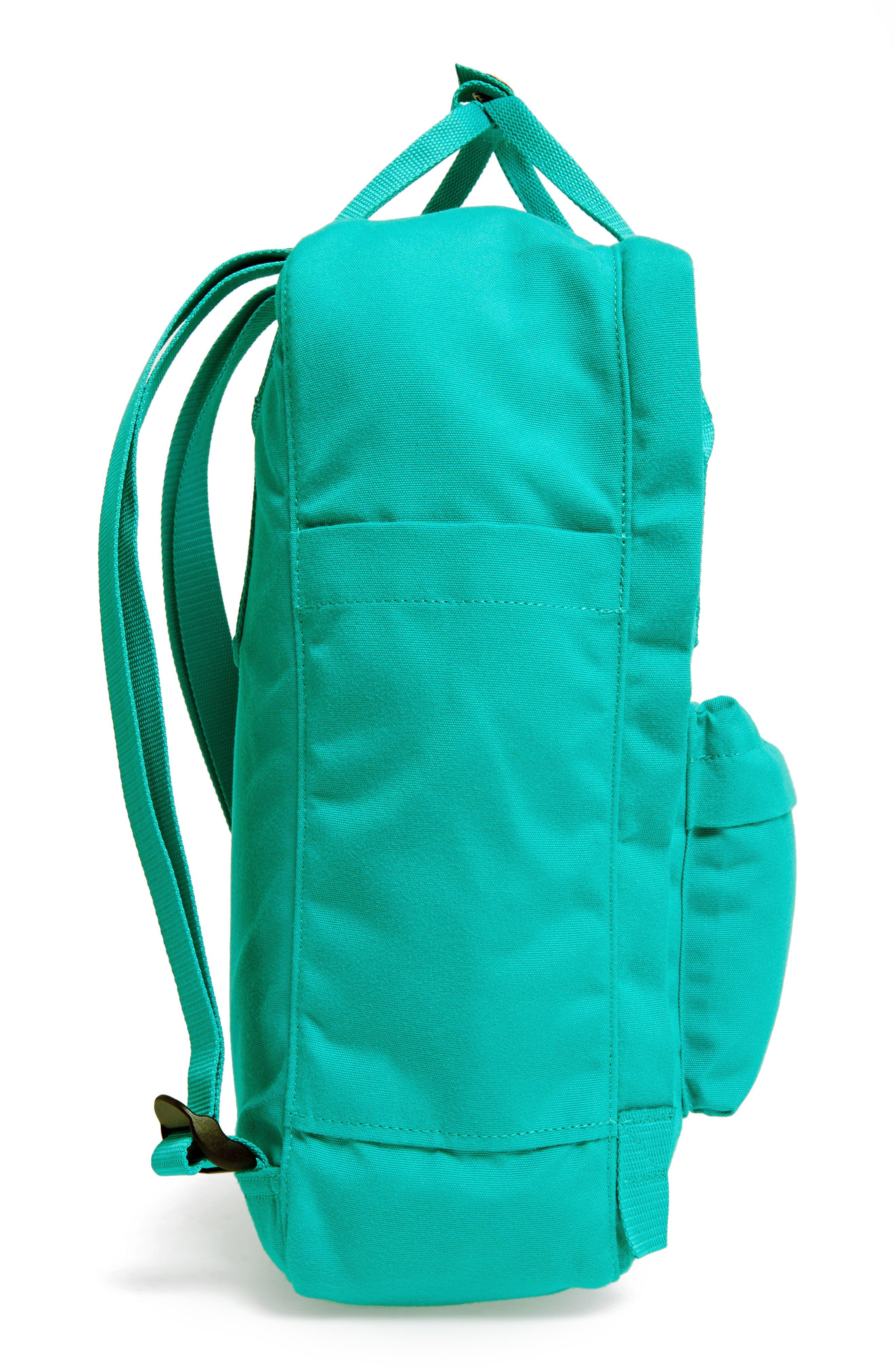 Re-Kånken Water Resistant Backpack,                             Alternate thumbnail 5, color,                             EMERALD