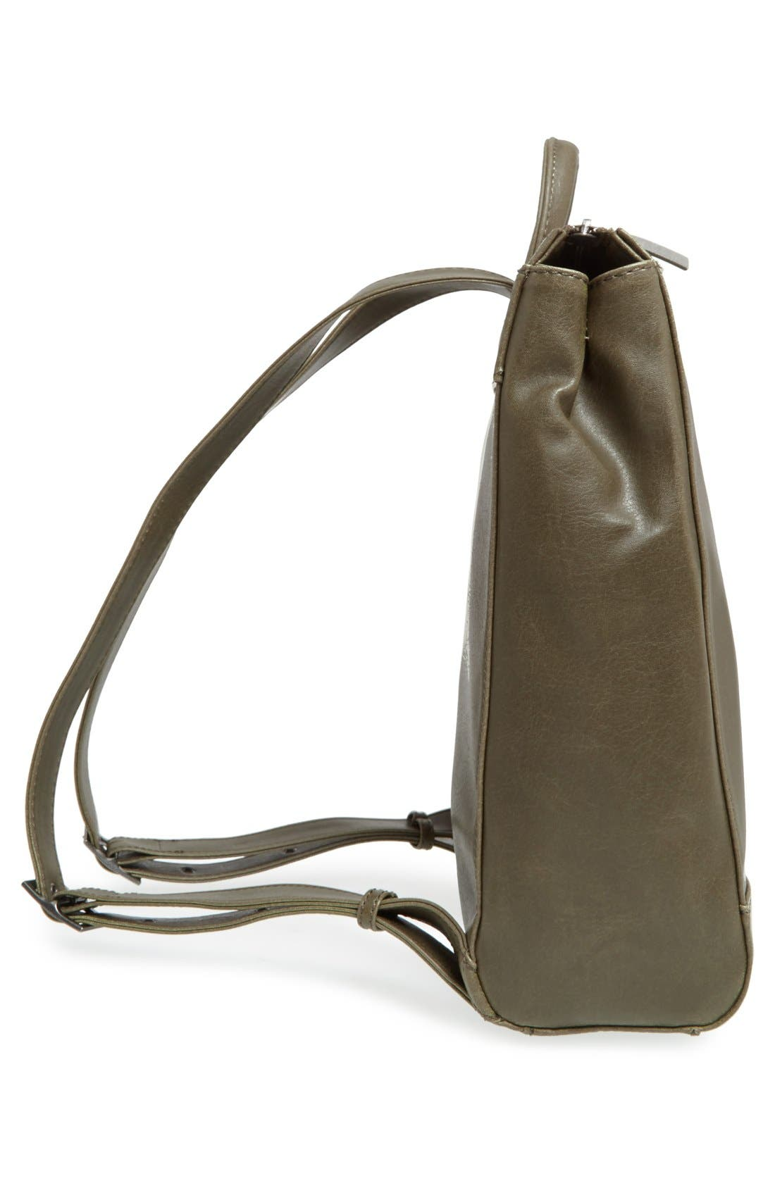 'Katherine' Faux Leather Backpack,                             Alternate thumbnail 31, color,