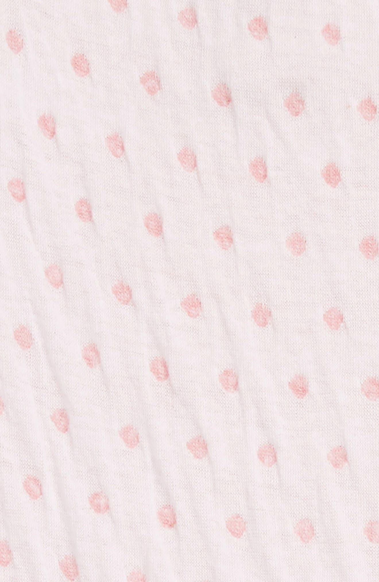 2-Fer Coveralls,                             Alternate thumbnail 2, color,                             PINK BRIDE DOTS