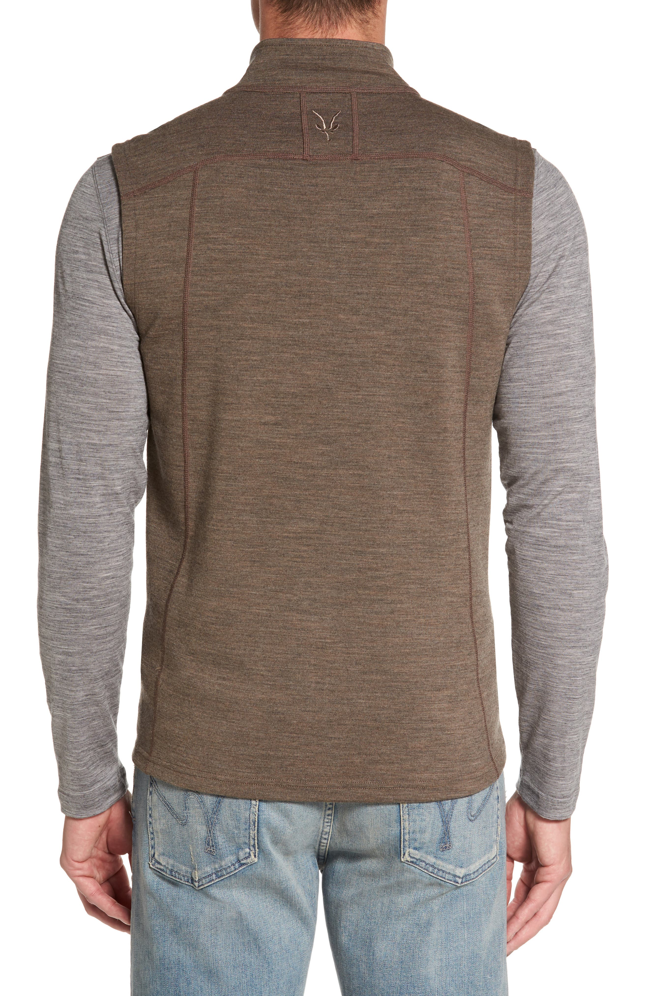 'Shak' Merino Wool Vest,                             Alternate thumbnail 2, color,                             250