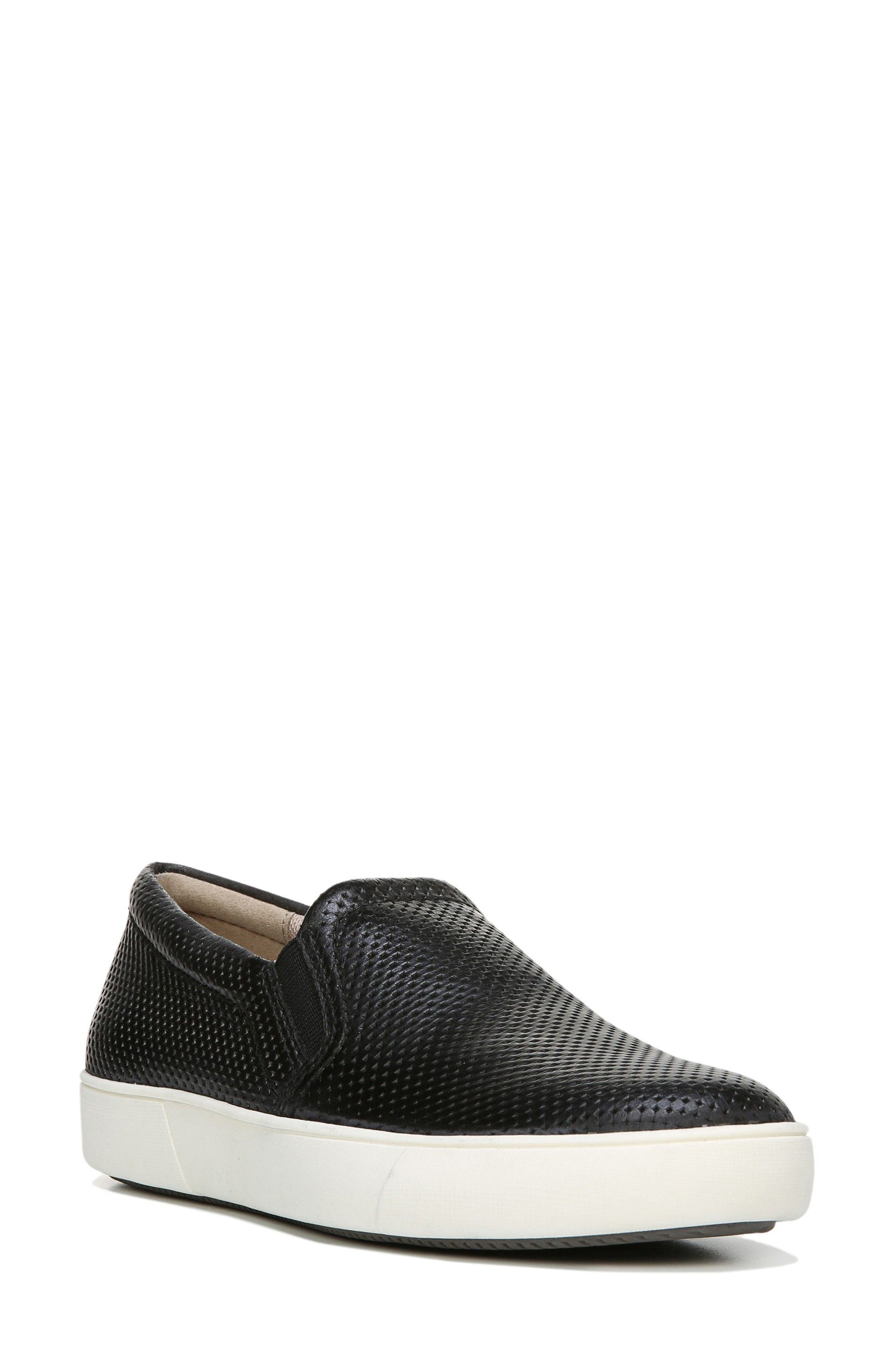 Marianne Sneaker,                         Main,                         color, BLACK LEATHER