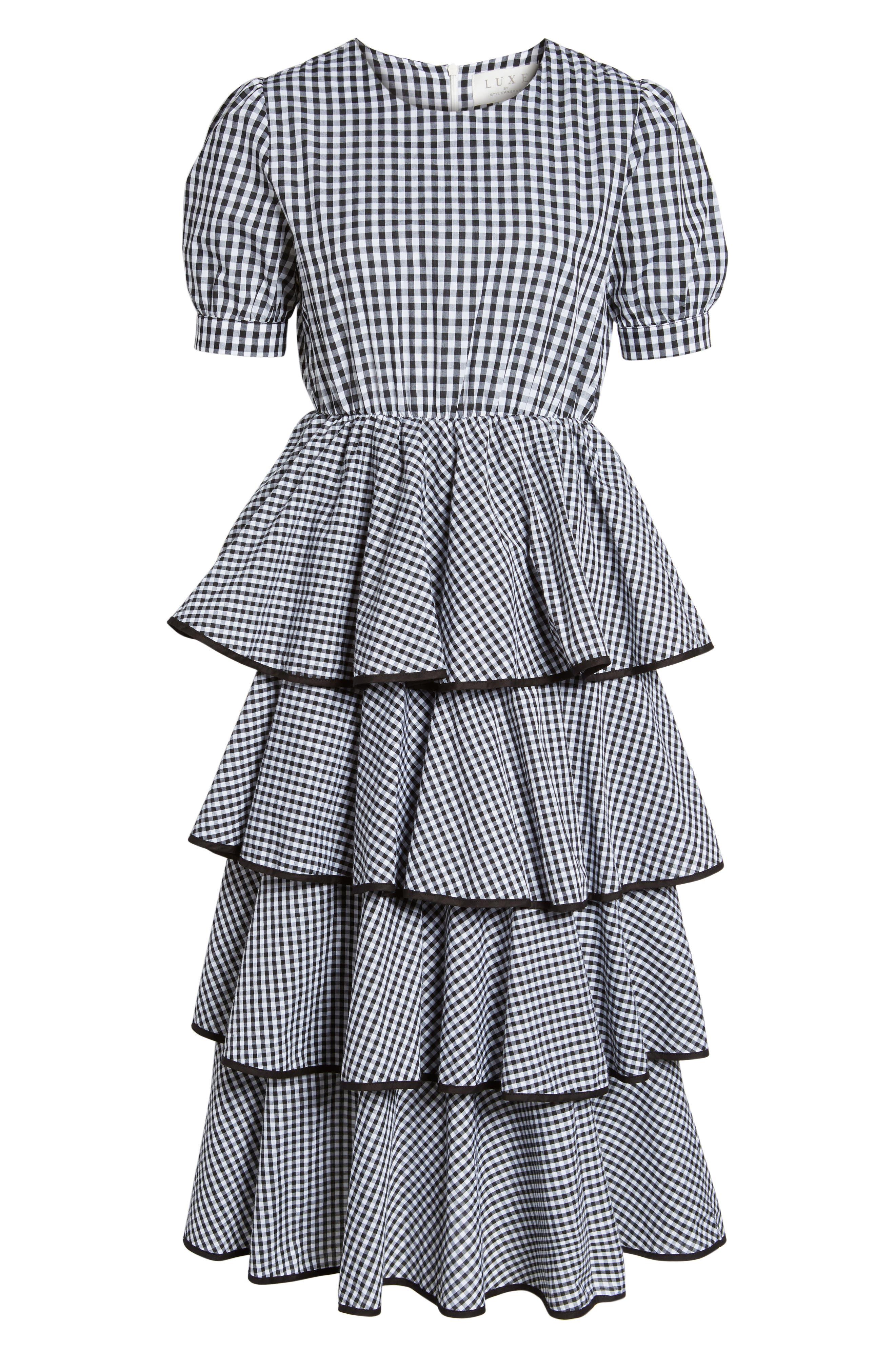 Beauty Buzz Midi Dress,                             Alternate thumbnail 6, color,                             008