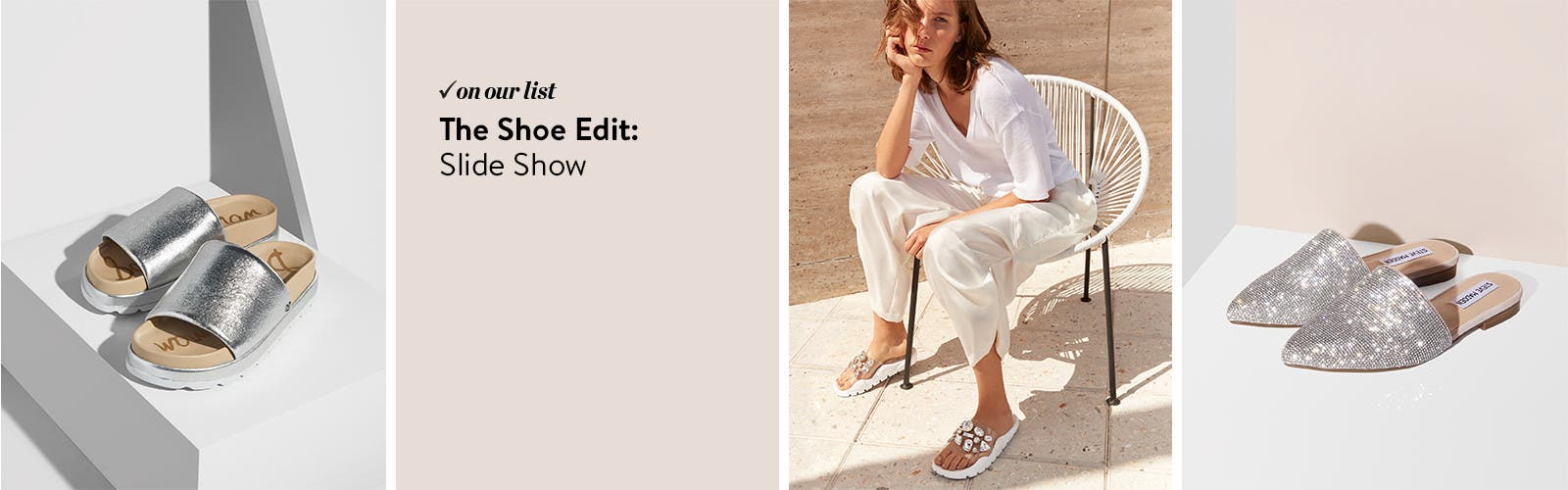 The Shoe Edit: women's slides.