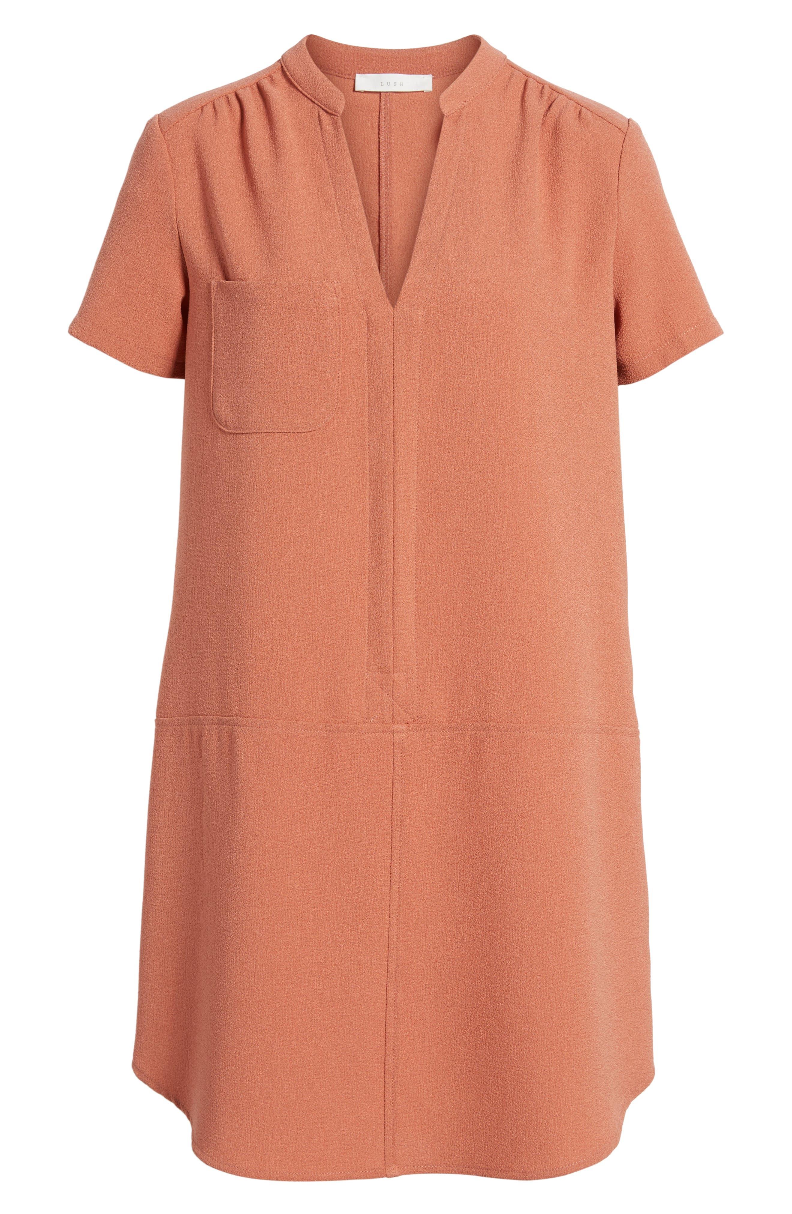 Hailey Crepe Dress,                             Alternate thumbnail 165, color,