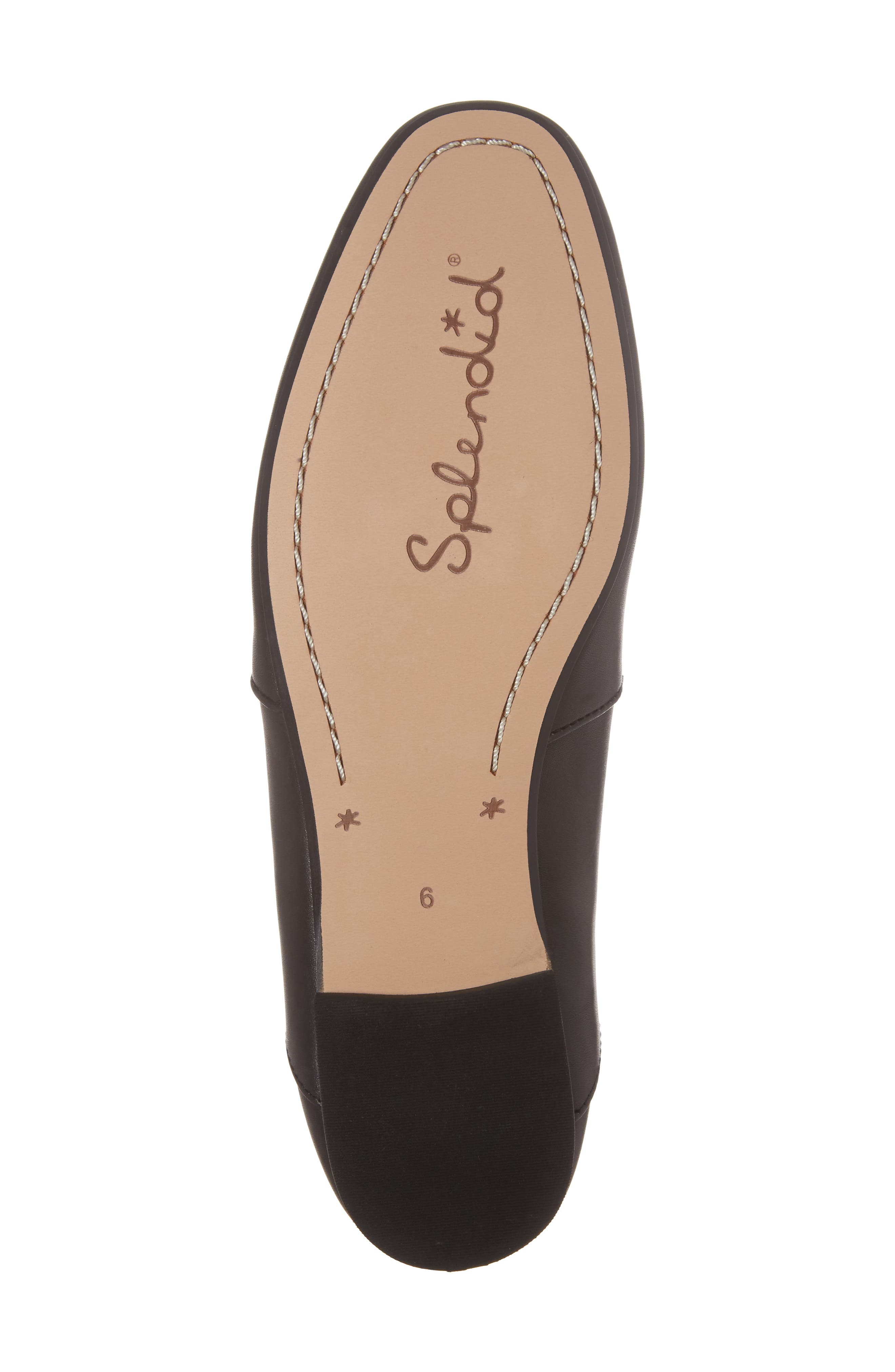 Derby Loafer Flat,                             Alternate thumbnail 6, color,                             002