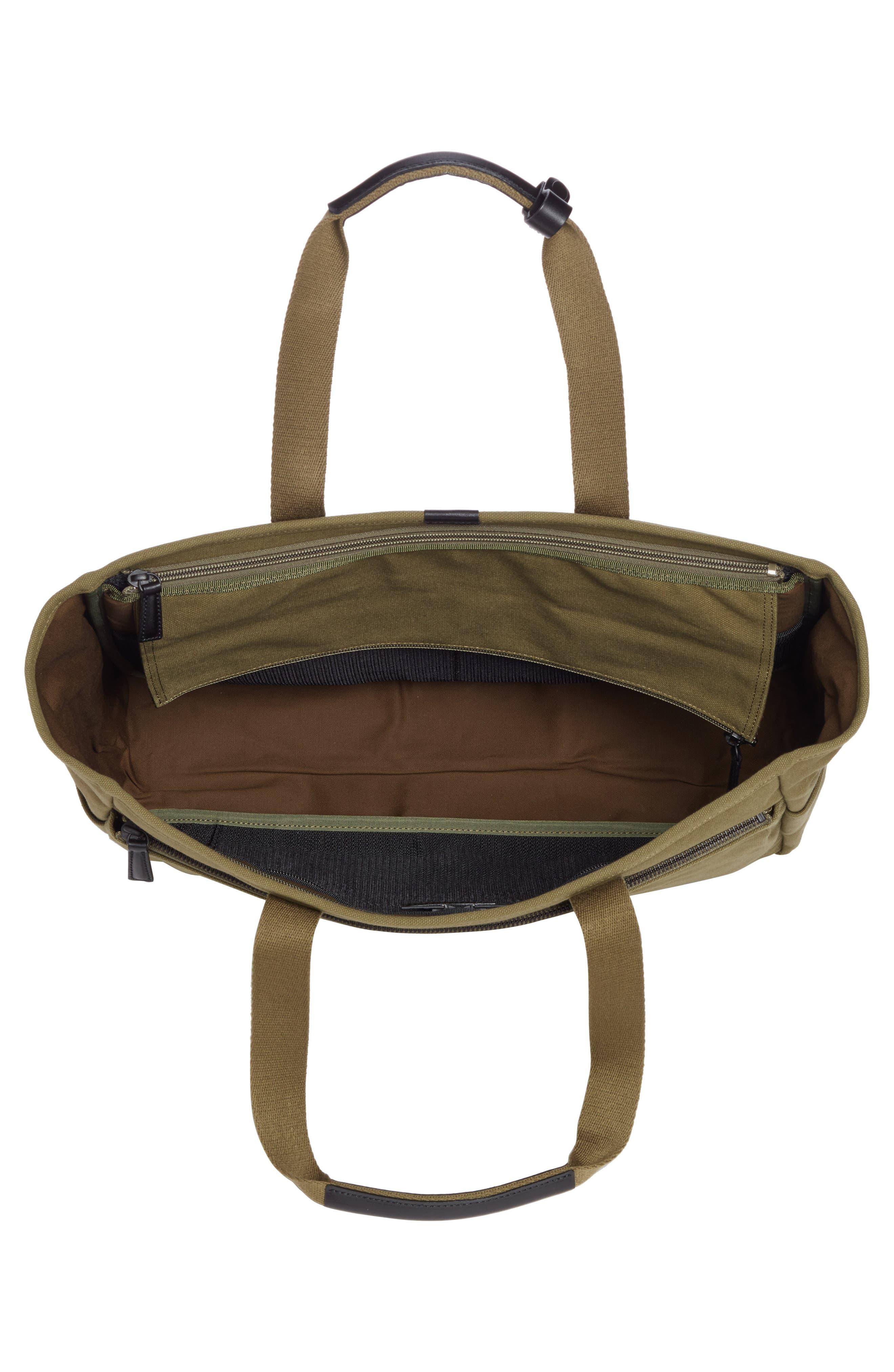 x Porter Travel Tote Bag,                             Alternate thumbnail 4, color,                             OLIVE