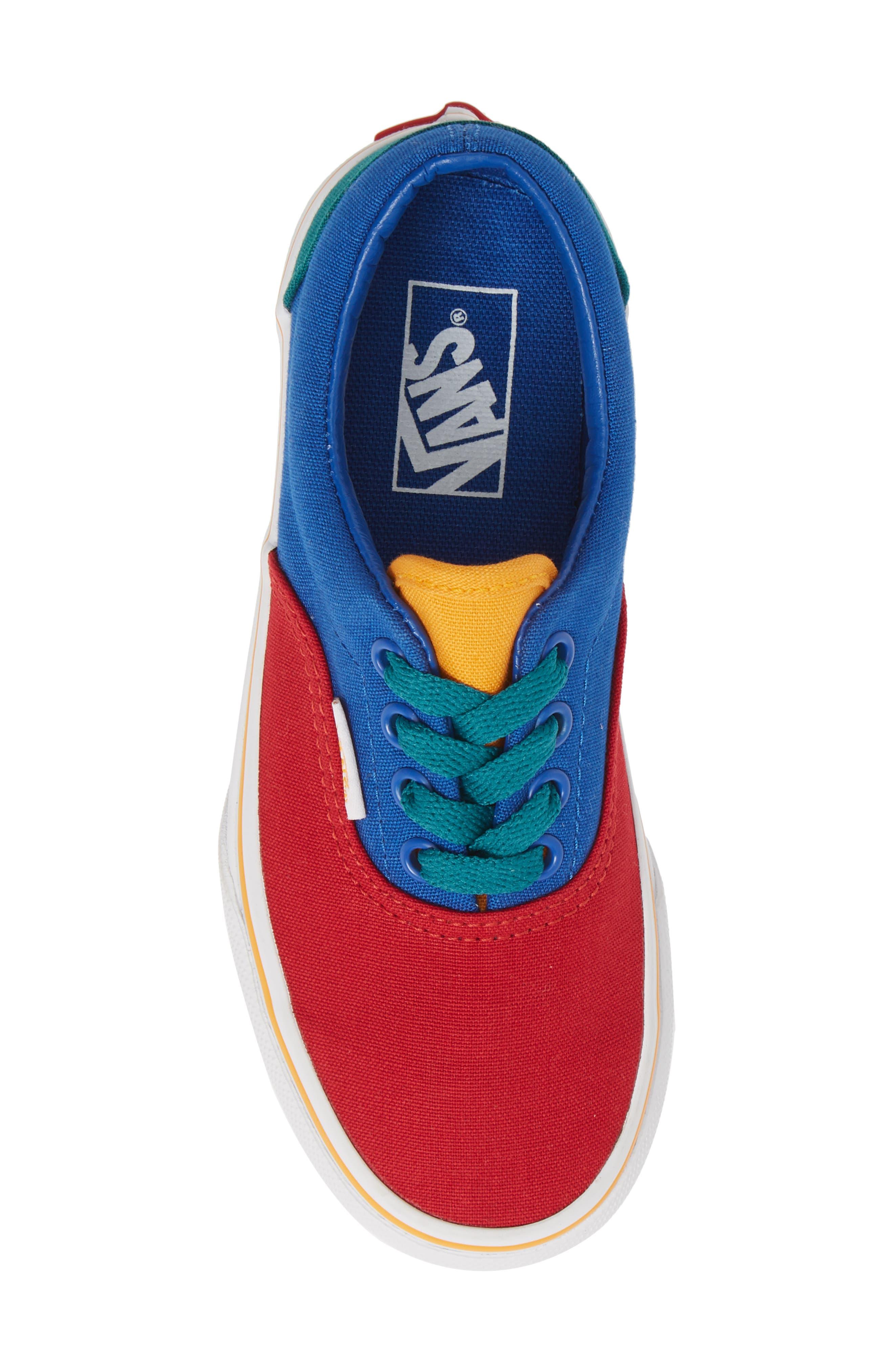 'Era' Sneaker,                             Alternate thumbnail 5, color,                             LAPIS BLUE/ TRUE WHITE