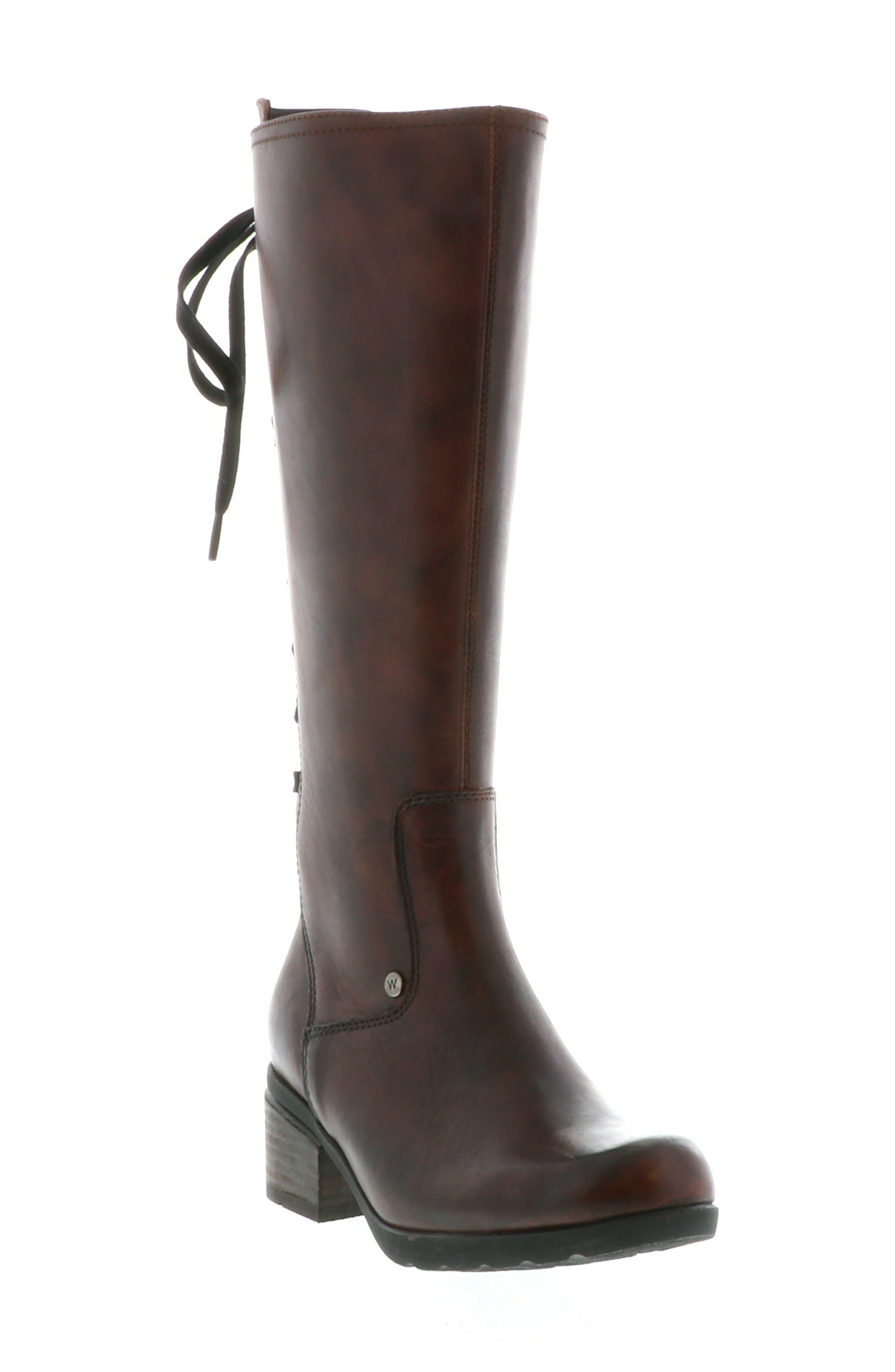 Wolky Hayen Knee High Boot, Brown