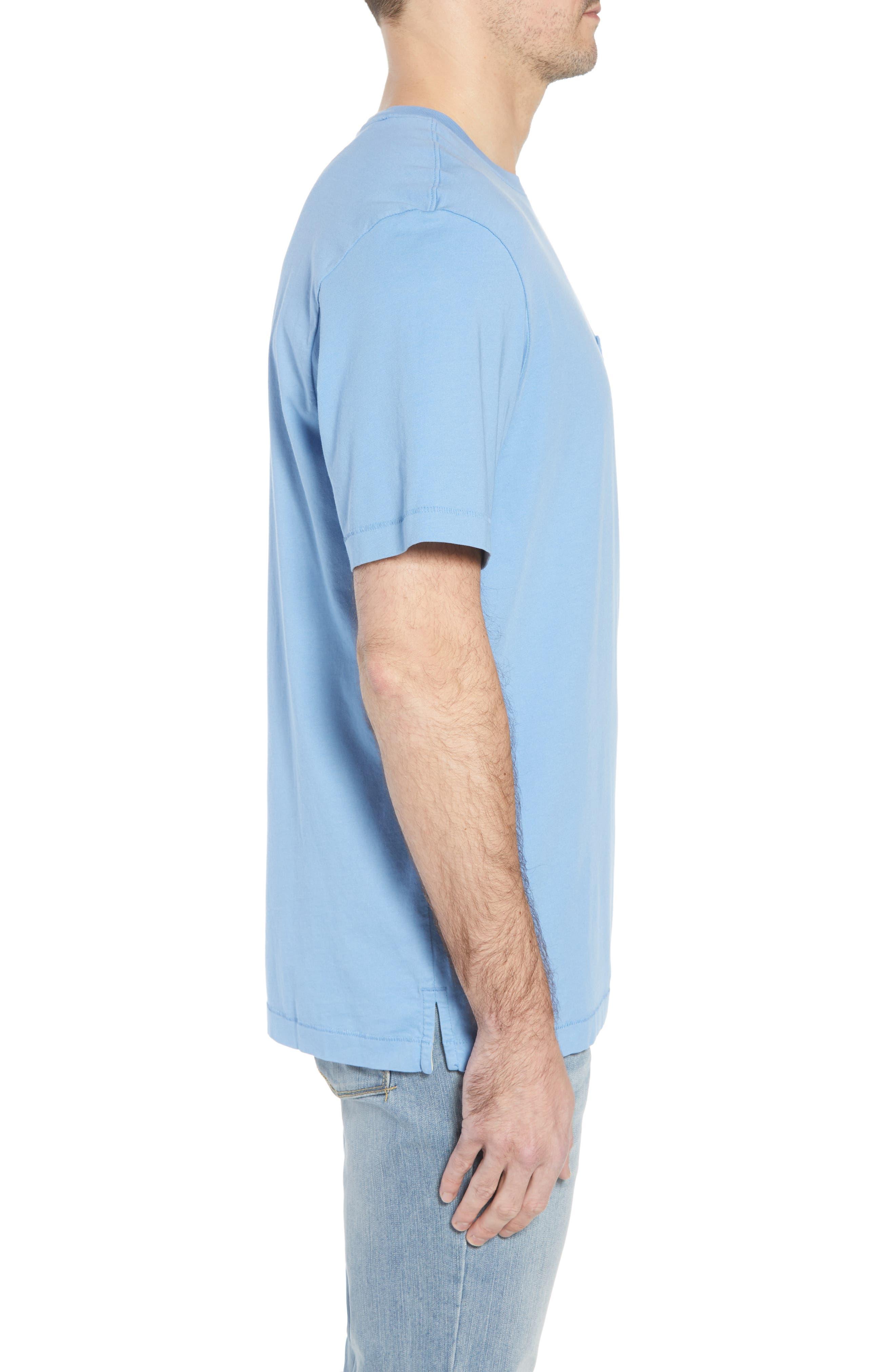 New Bali Sky Pima Cotton Pocket T-Shirt,                             Alternate thumbnail 82, color,