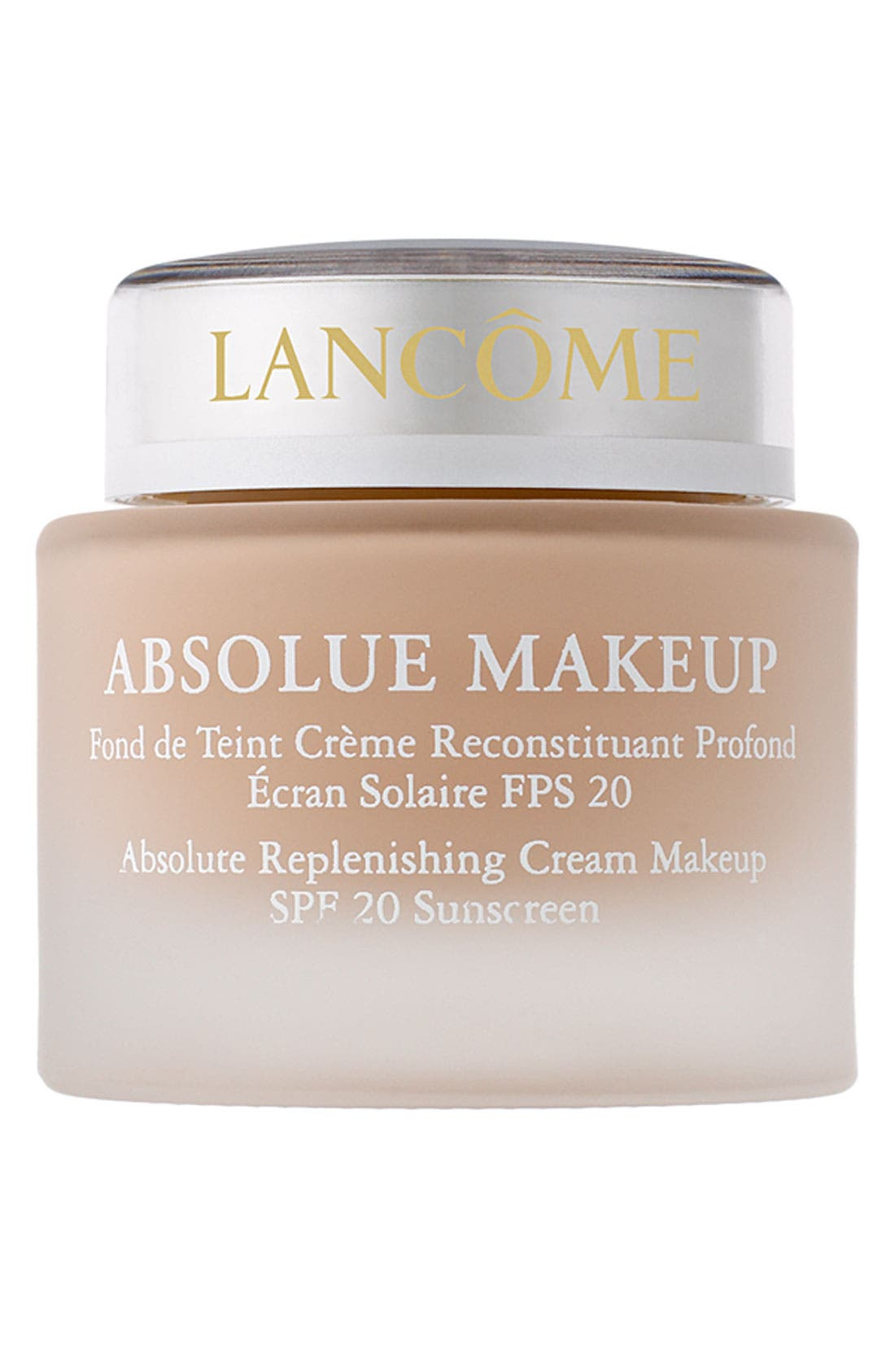 Absolue Replenishing Cream Makeup SPF 20,                             Main thumbnail 1, color,                             ABSOLUTE ECRU 20 (C)