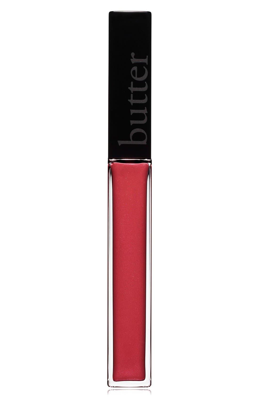 'Plush Rush' Lip Gloss,                             Main thumbnail 1, color,                             FLIRT